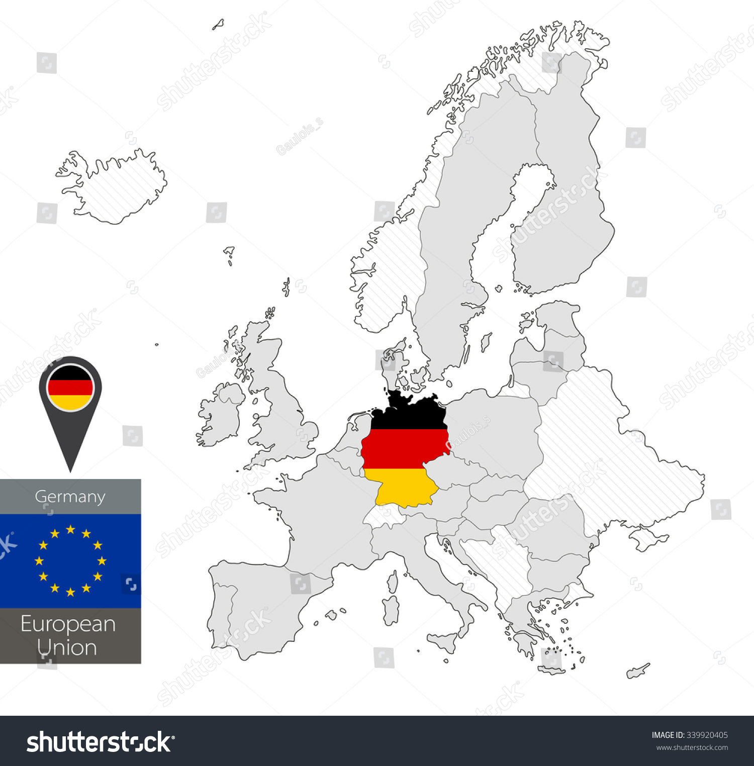 Germany Location On The World Florida Map Of Cities - Germany map location