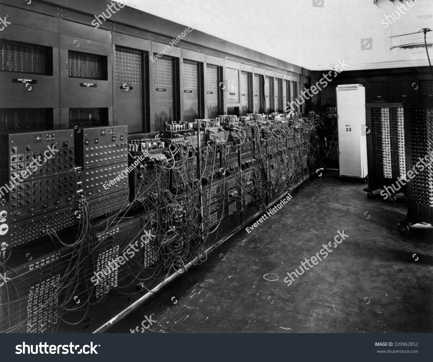Eniac Computer Was The First General-Purpose Electronic Digital Computer. 'Electronic Numerical