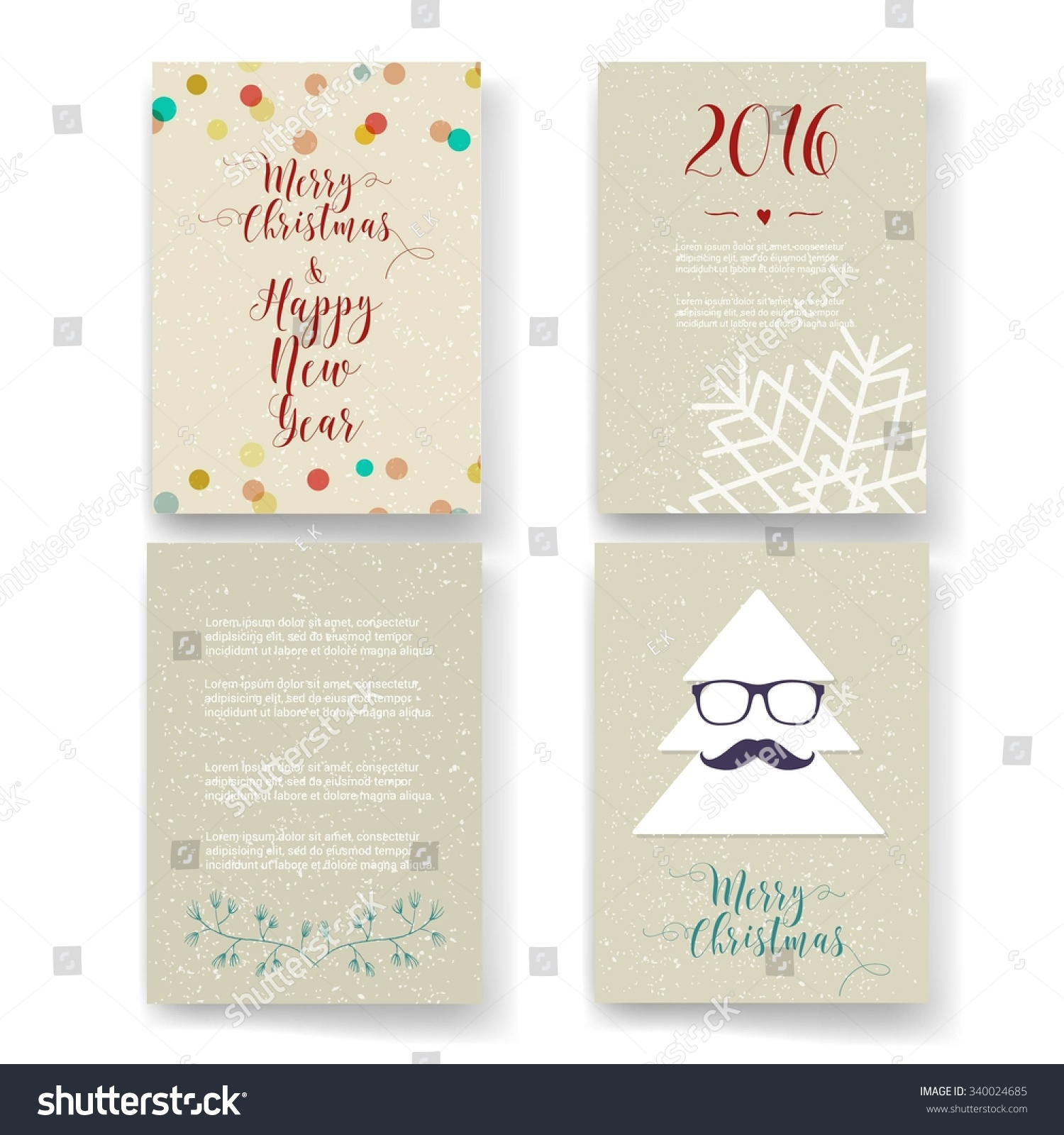 Holiday Identity Card Template