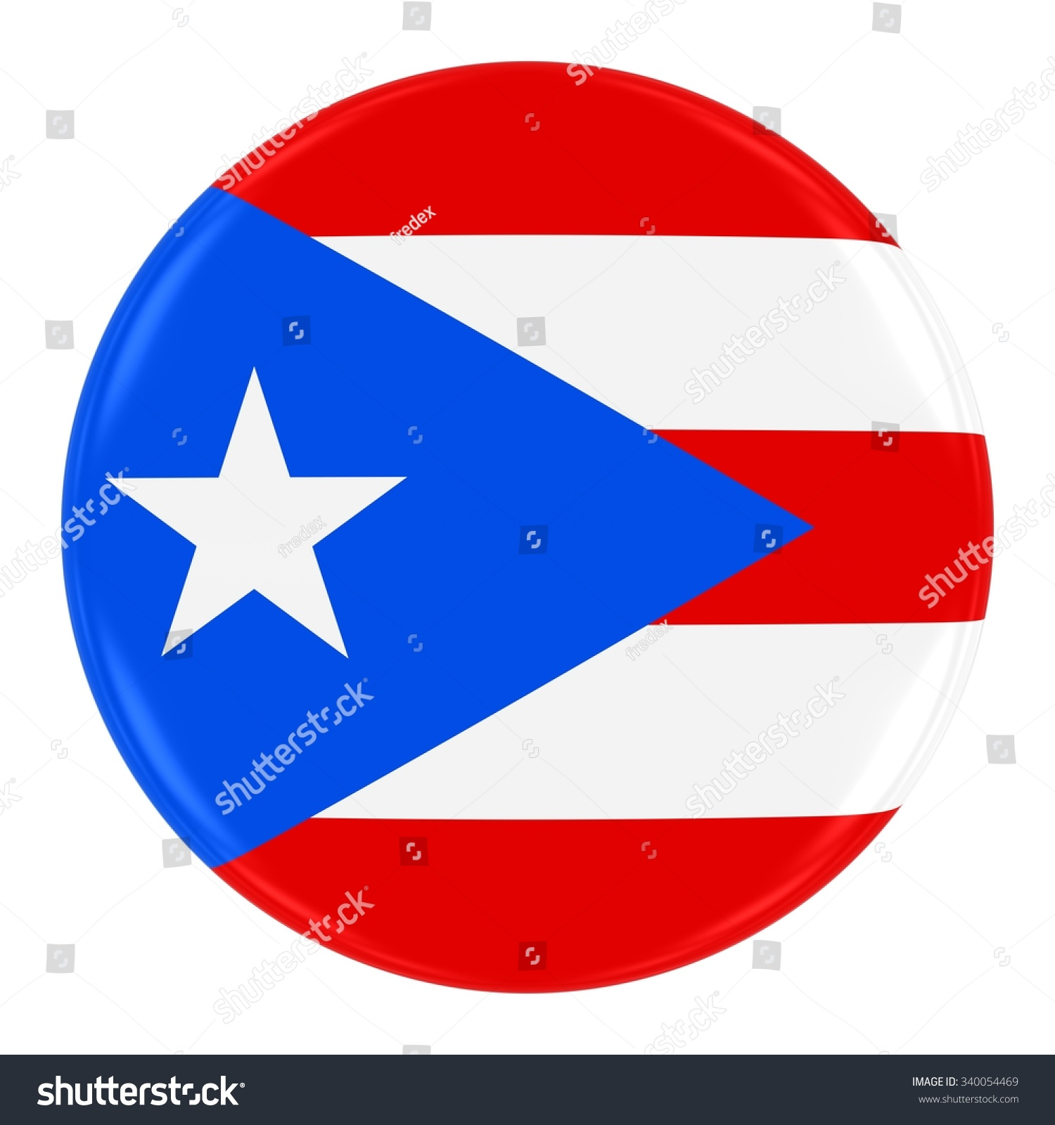 Puerto rican flag badge flag puerto stock illustration 340054469 puerto rican flag badge flag of puerto rico button isolated on white biocorpaavc Choice Image
