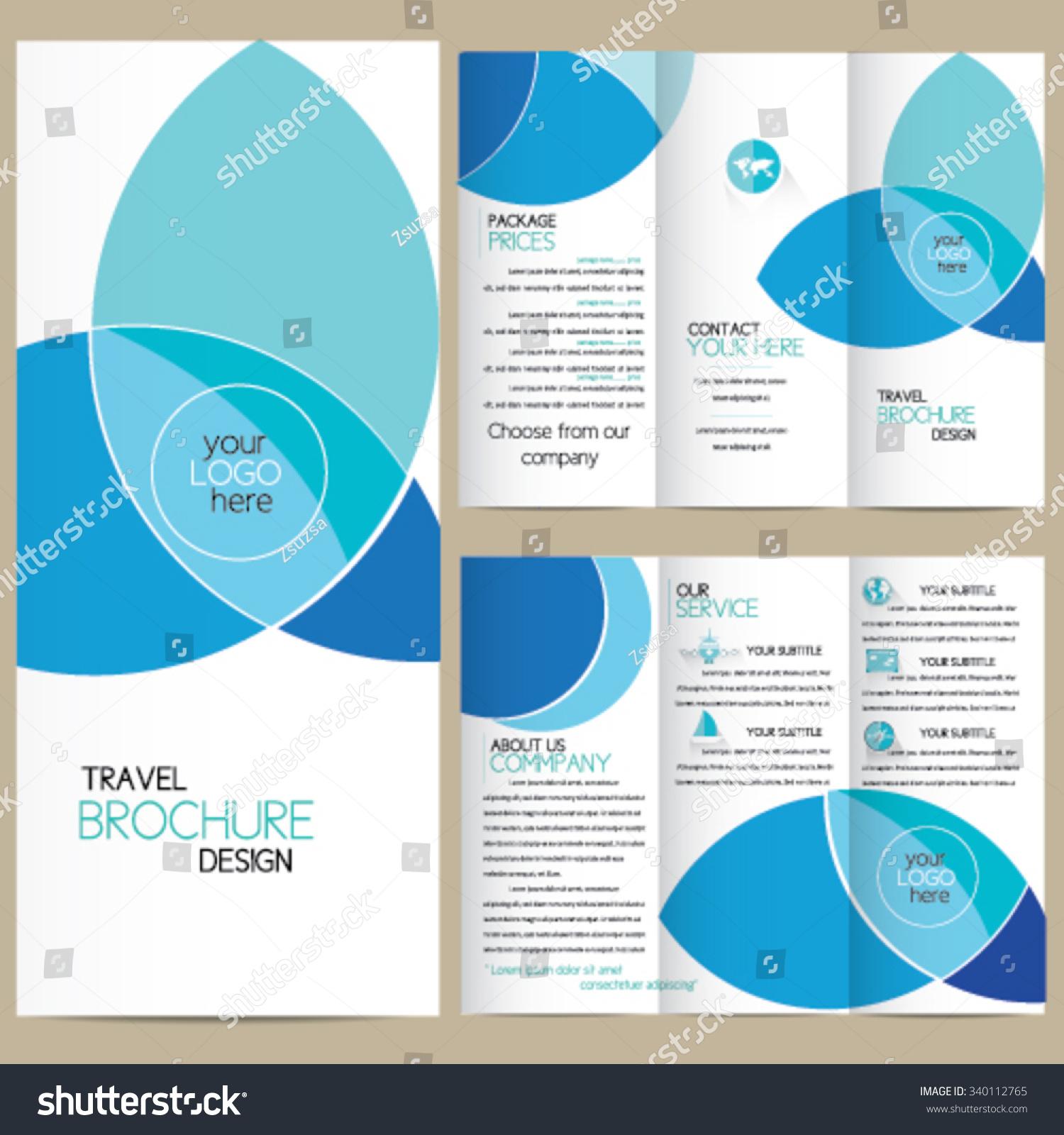 travel brochure design