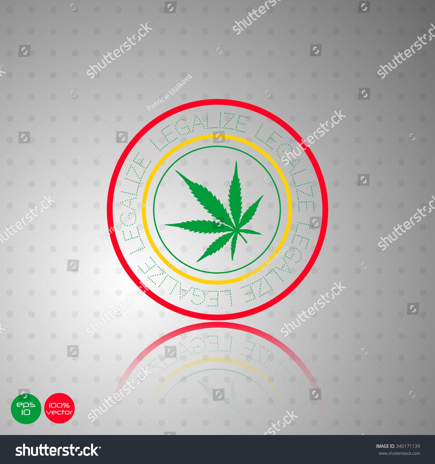 Vintage marijuana leaf silhouette text legalize stock vector vintage with marijuana leaf silhouette and with text legalize marijuana background marijuana leaf biocorpaavc