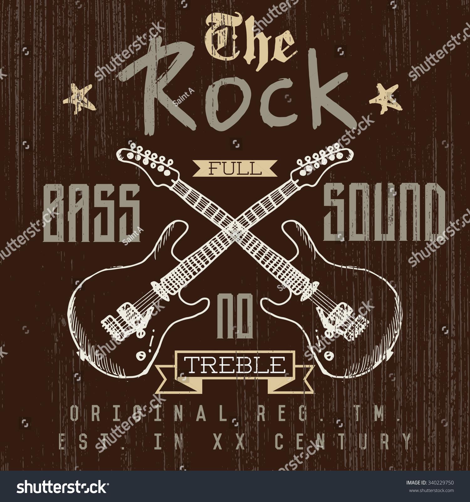 Shirt design london - T Shirt Printing Design Typography Graphics London Rock Festival Vector Illustration With Grunge