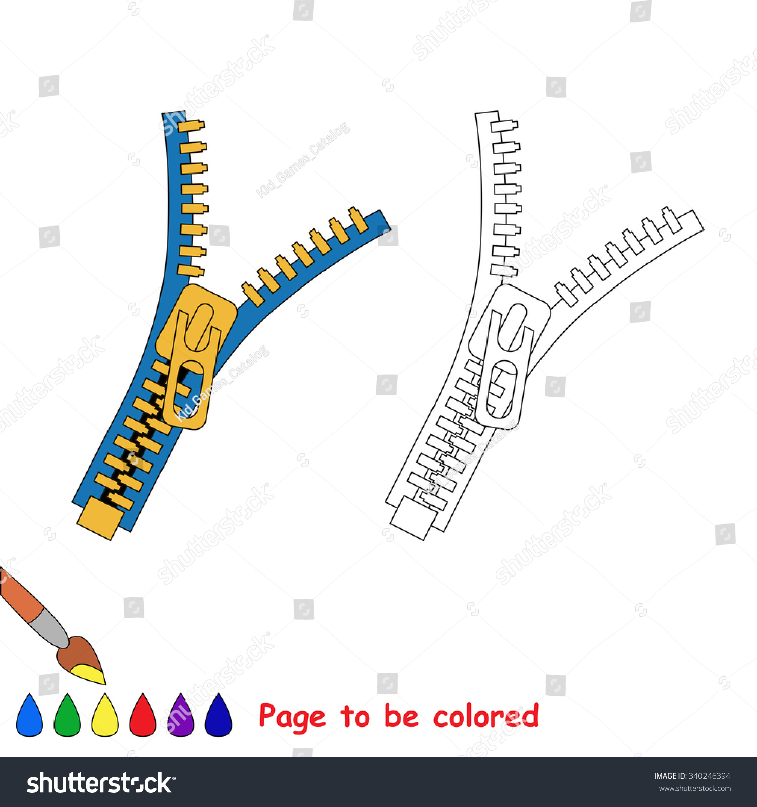 Coloring pages zip
