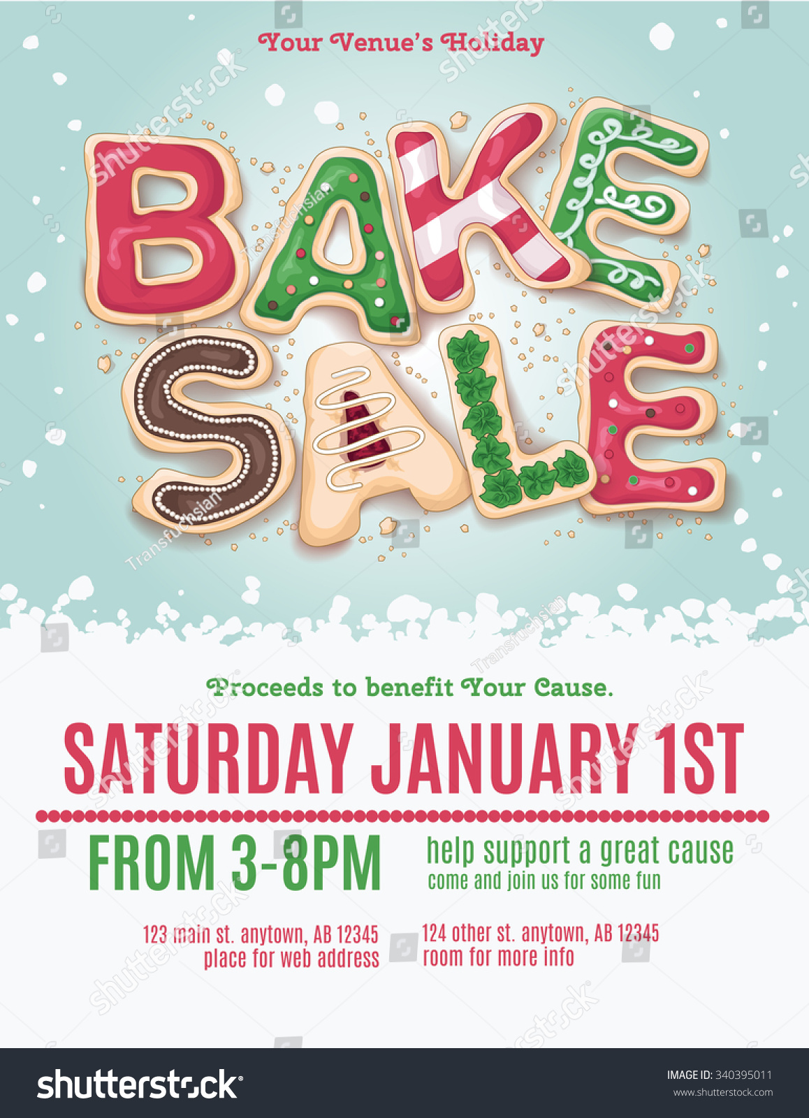christmas bake sale ideas