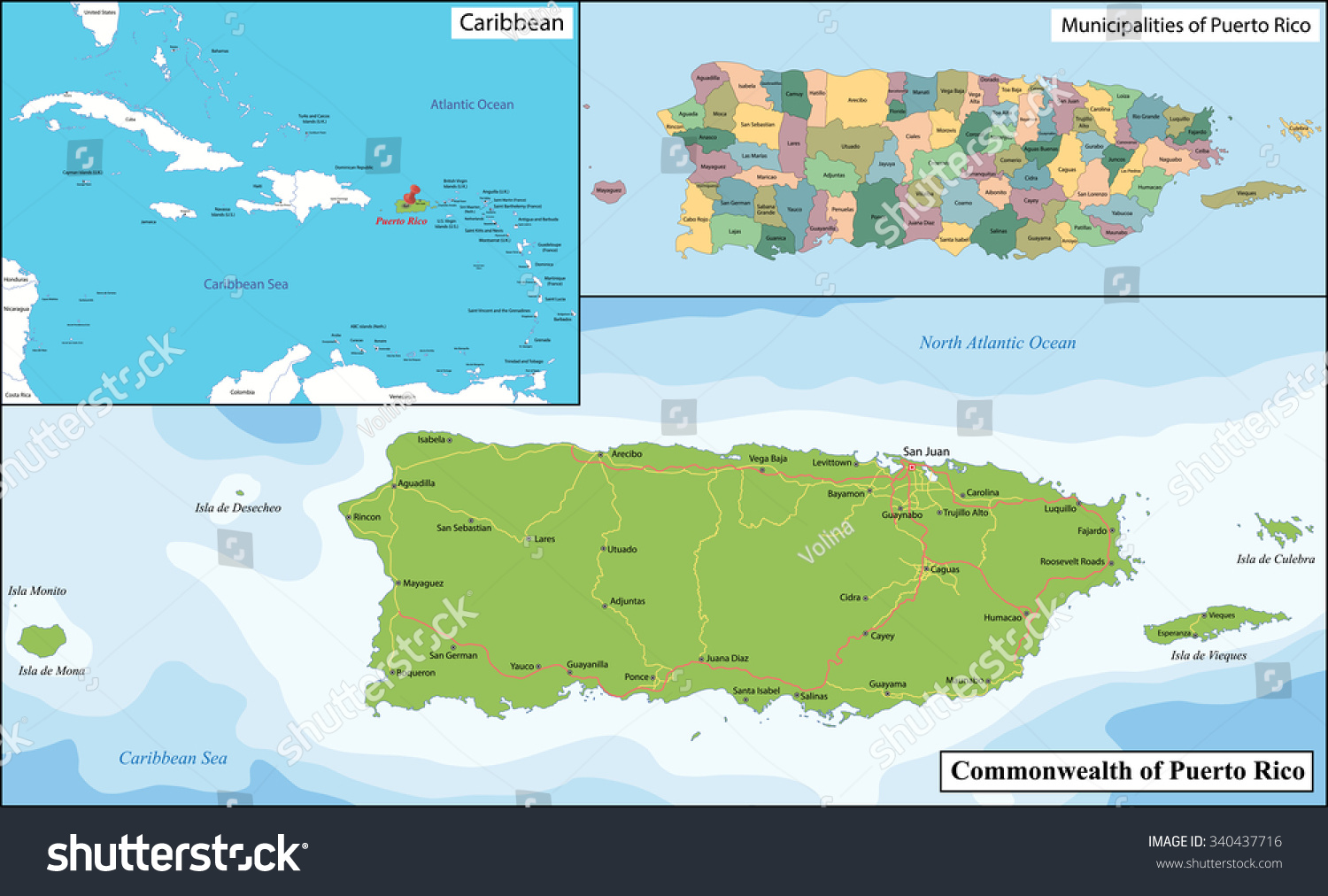 Puerto rico officially commonwealth puerto rico vectores en stock puerto rico officially the commonwealth of puerto rico is a united states territory located in gumiabroncs Choice Image