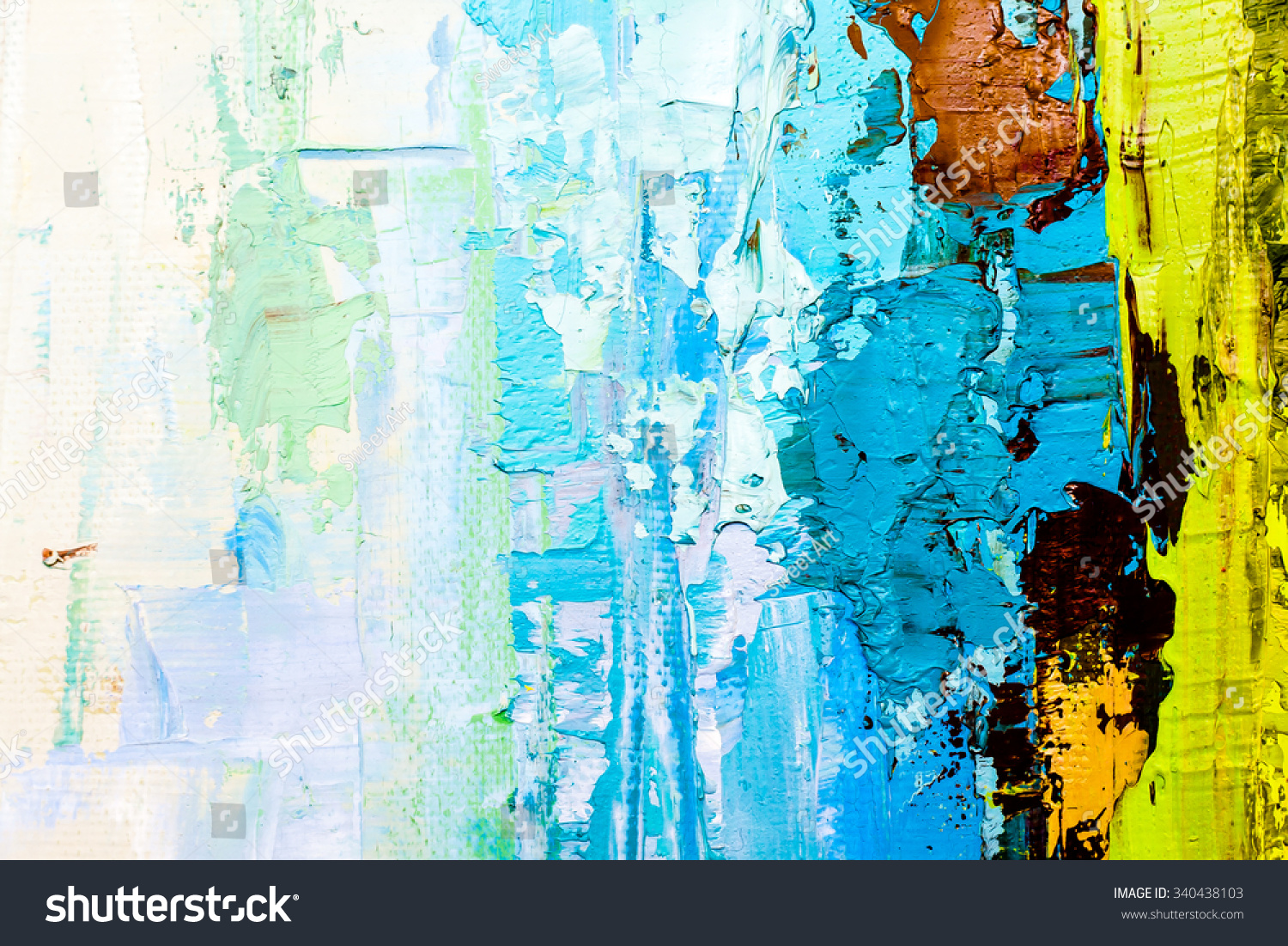abstract art background oil painting on stock illustration 340438103