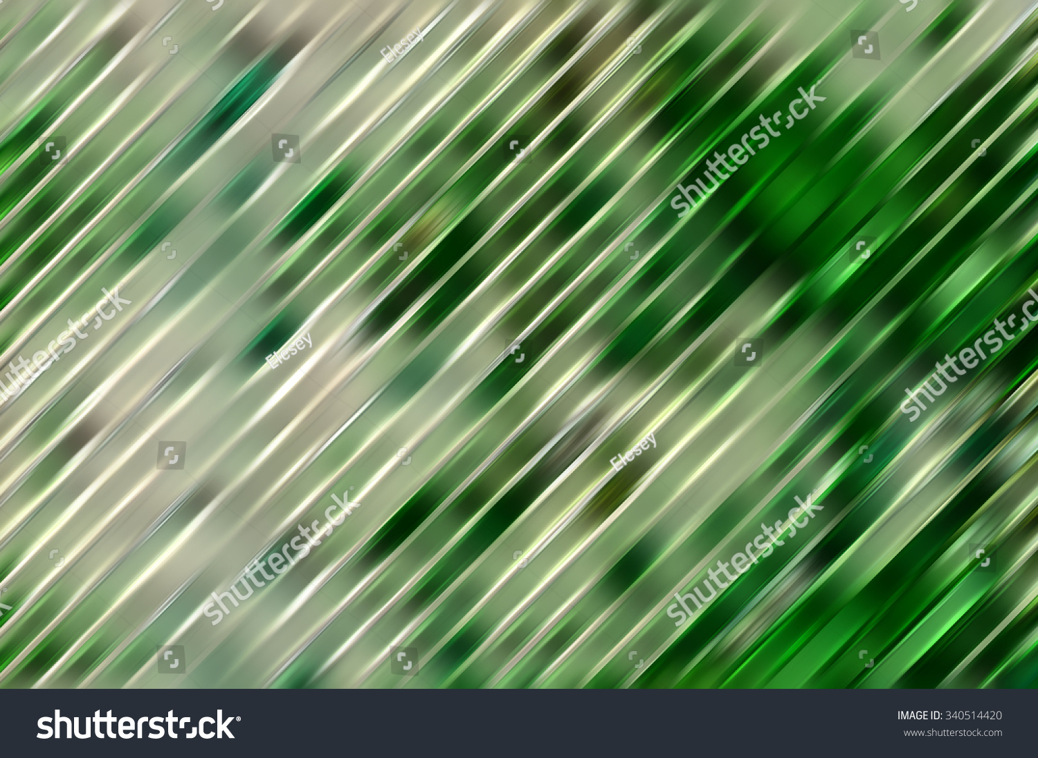 Abstract Green Background Diagonal Lines Strips Stock ...