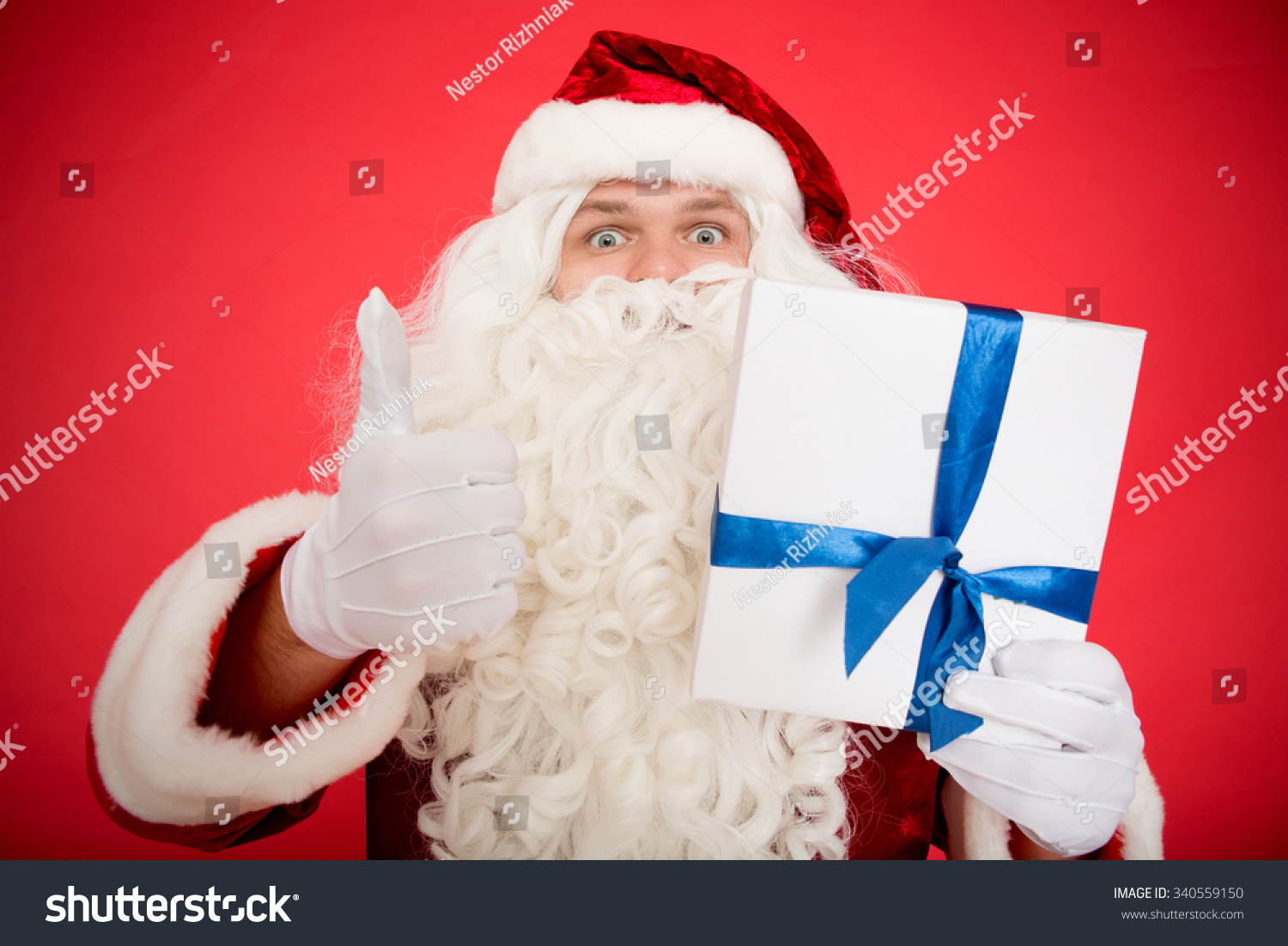 Best Part Christmas Father Christmas Showing Stock Photo (Edit Now ...