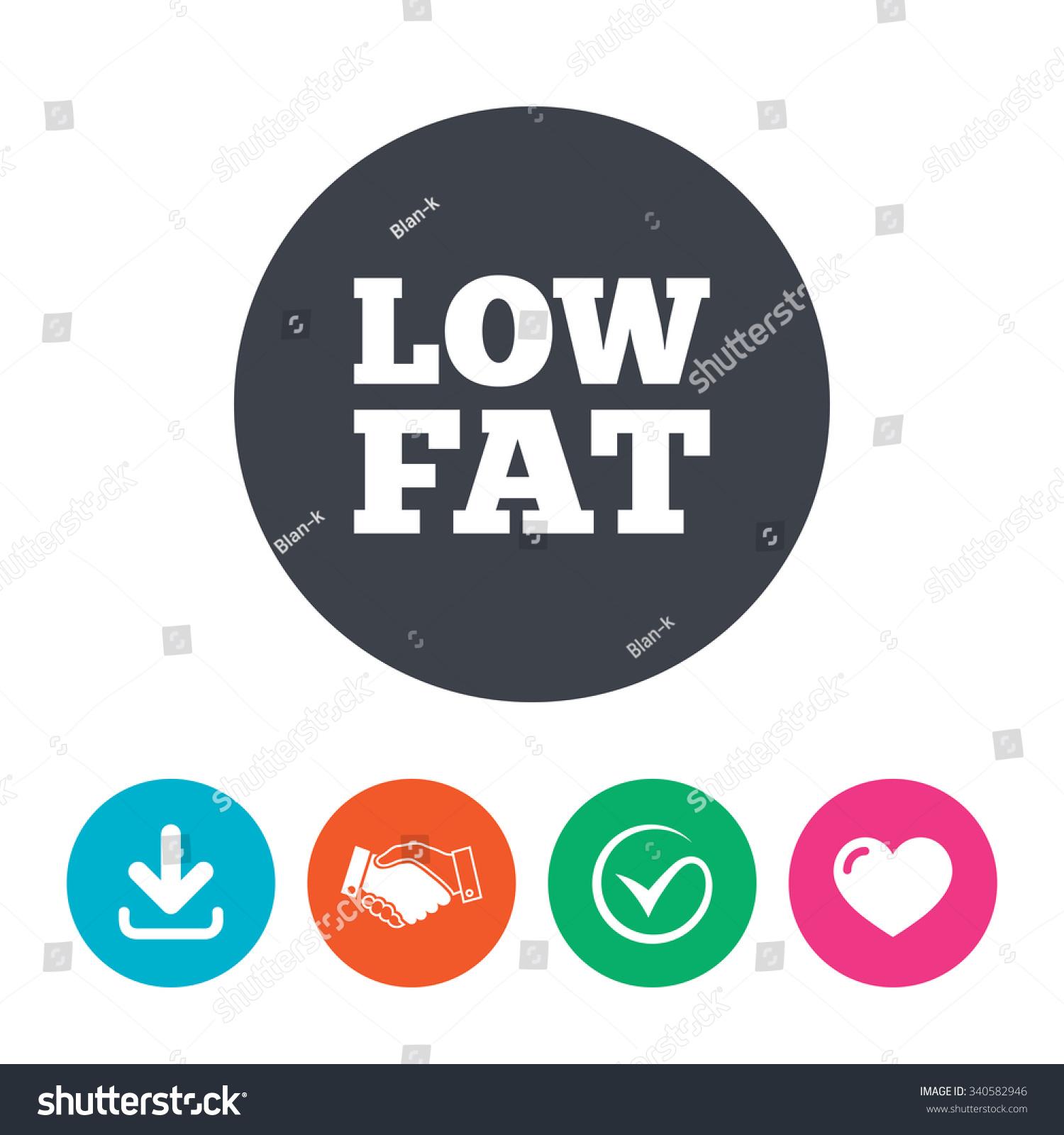 Low fat sign icon salt sugar stock illustration 340582946 low fat sign icon salt sugar food symbol download arrow handshake biocorpaavc