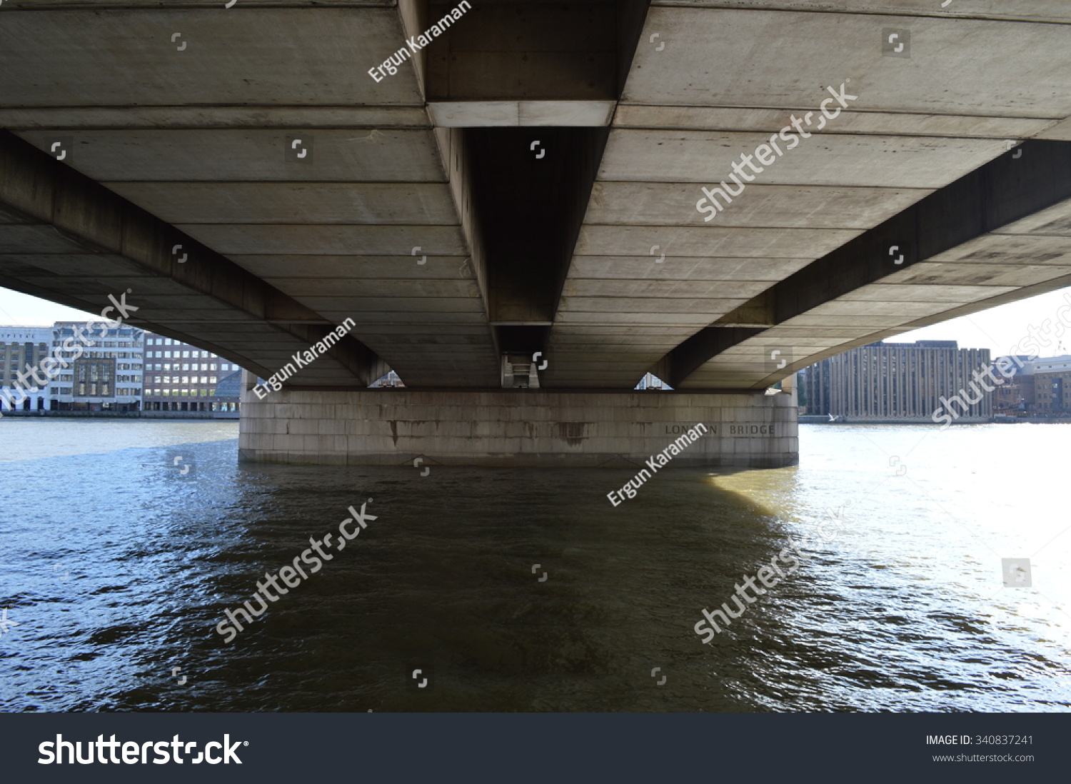 Under London Bridge