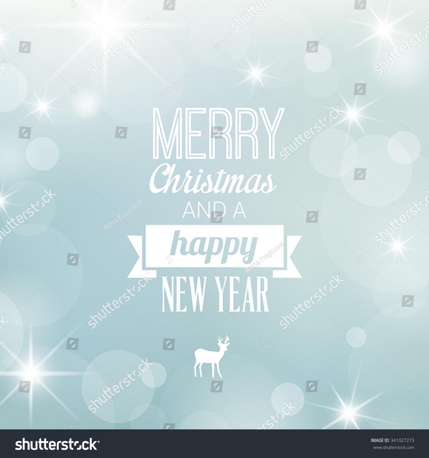 Christmas card decoration greetings card elegant snowy for Elegant christmas card messages