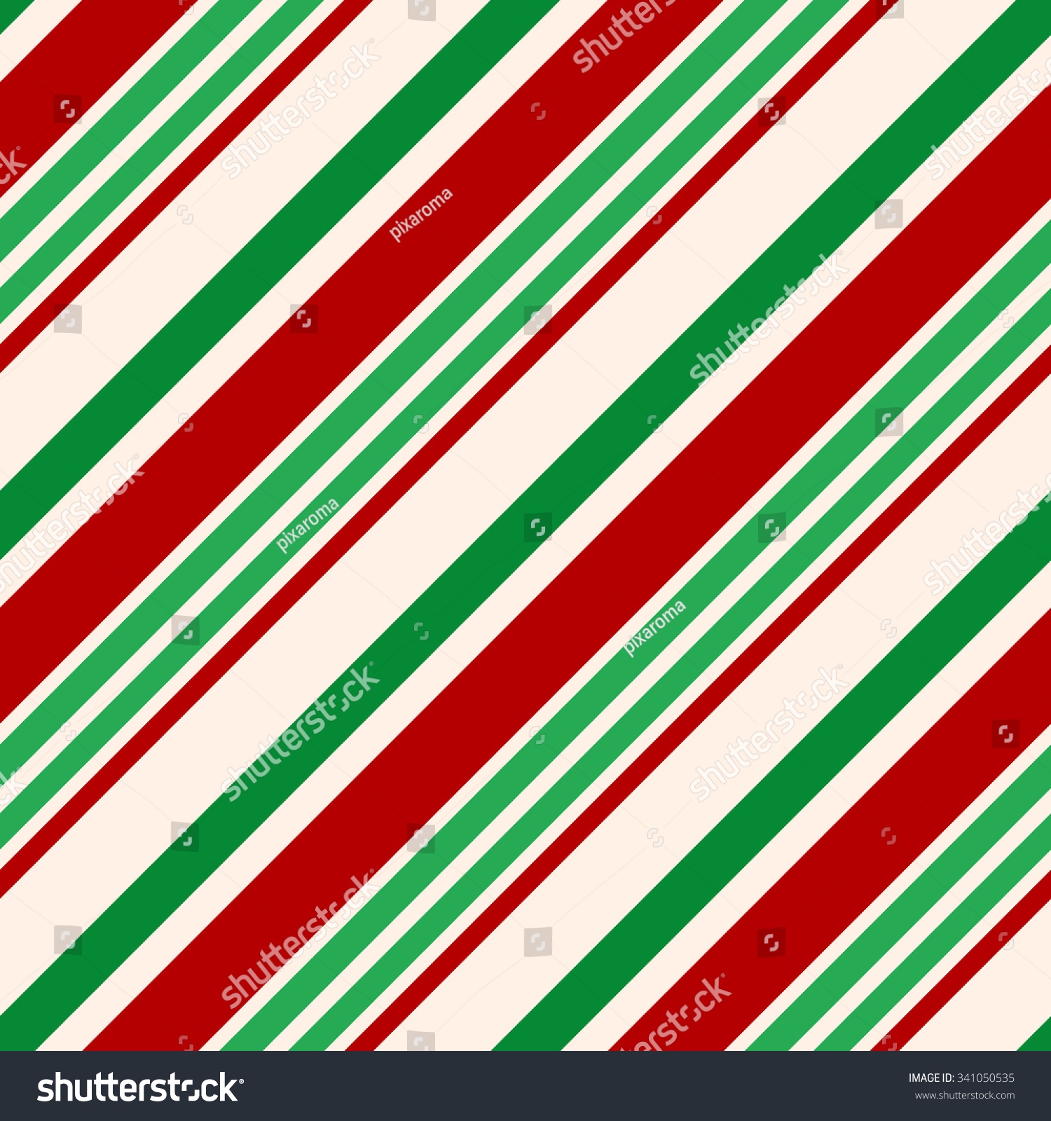 Christmas Seamless Vector Pattern Contain Candy Stock Vector