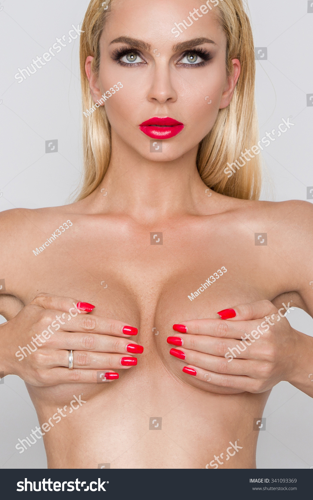 naked big breast women