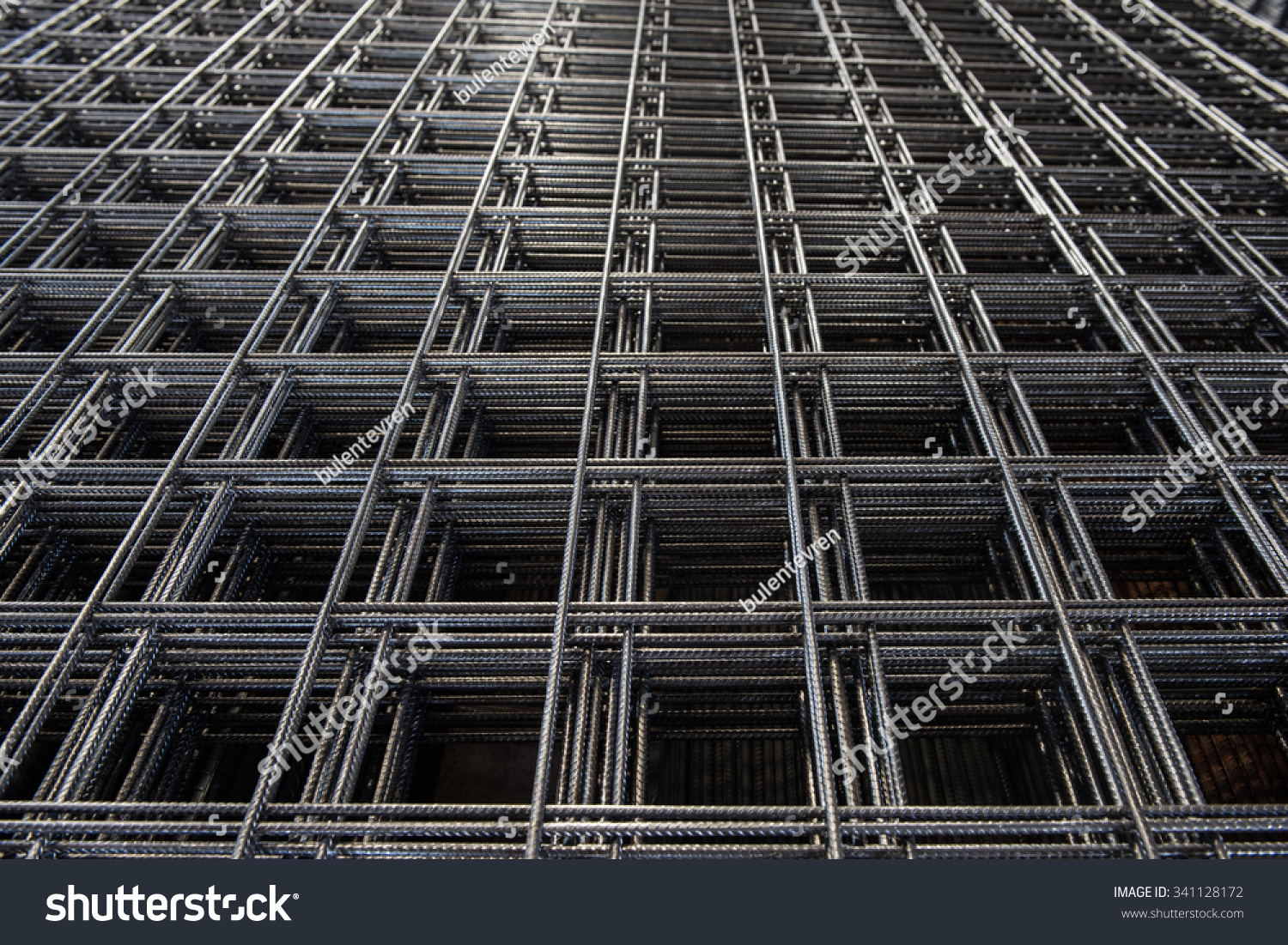 Stainless Steel Wire Fences Lying On Stock Photo (Royalty Free ...