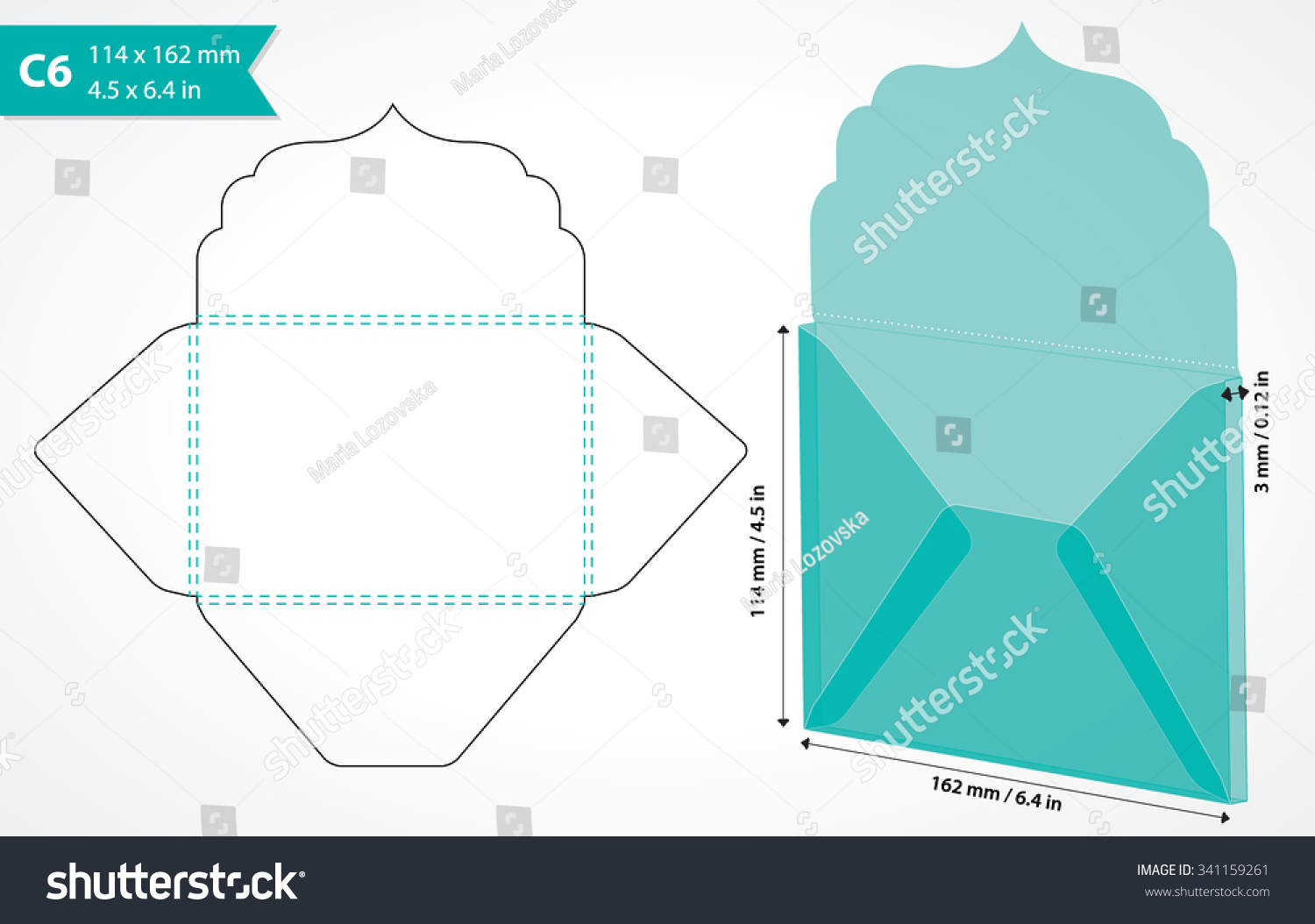 Download A6 Square Flap Envelope Template free - mmomediaget
