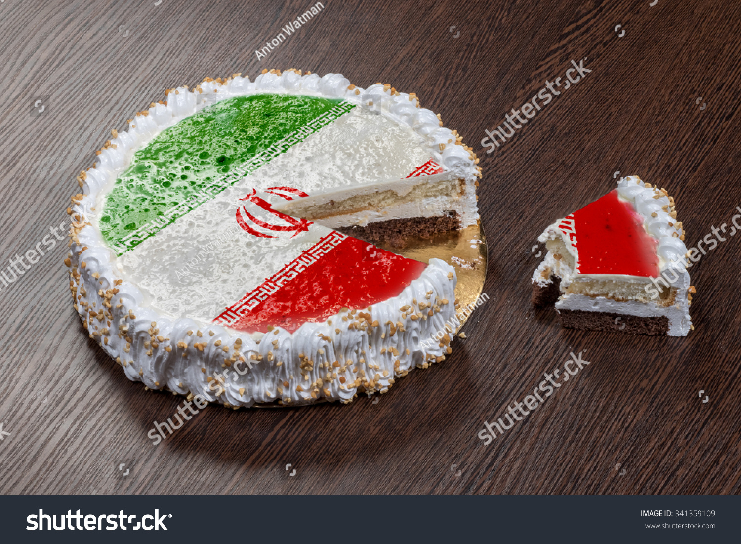 Symbol war separatism cake picture flag stock photo 341359109 the symbol of war and separatism a cake with a picture of the flag of buycottarizona Choice Image