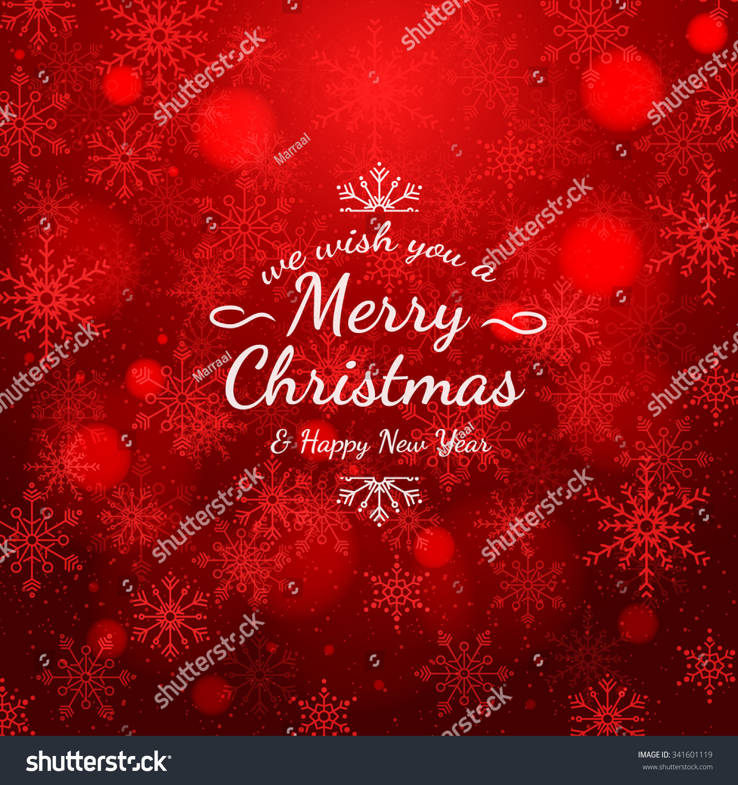 Sample Christmas Cards With Colorful Text. The Texture Of The Snowflakes.  Bright Winter Background  Christmas Cards Sample