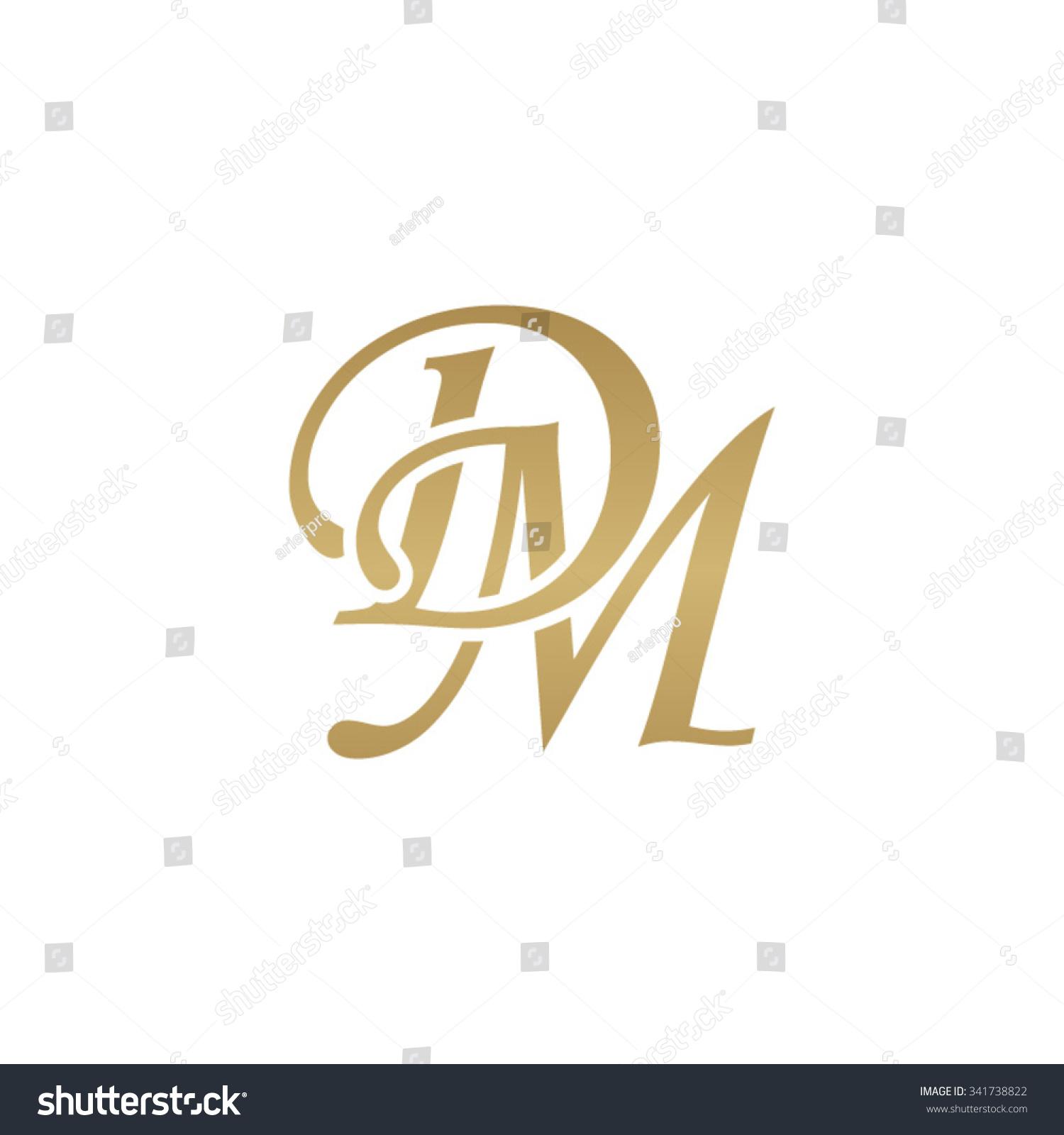stock-vector-dm-initial-monogram-logo-341738822 Vintage Monogram Letter D Template on printable monogram letter template, 3 letter monogram template, letter w template, monogram heart template, monogram art template, letter z template, vintage letter d template, letter e template,