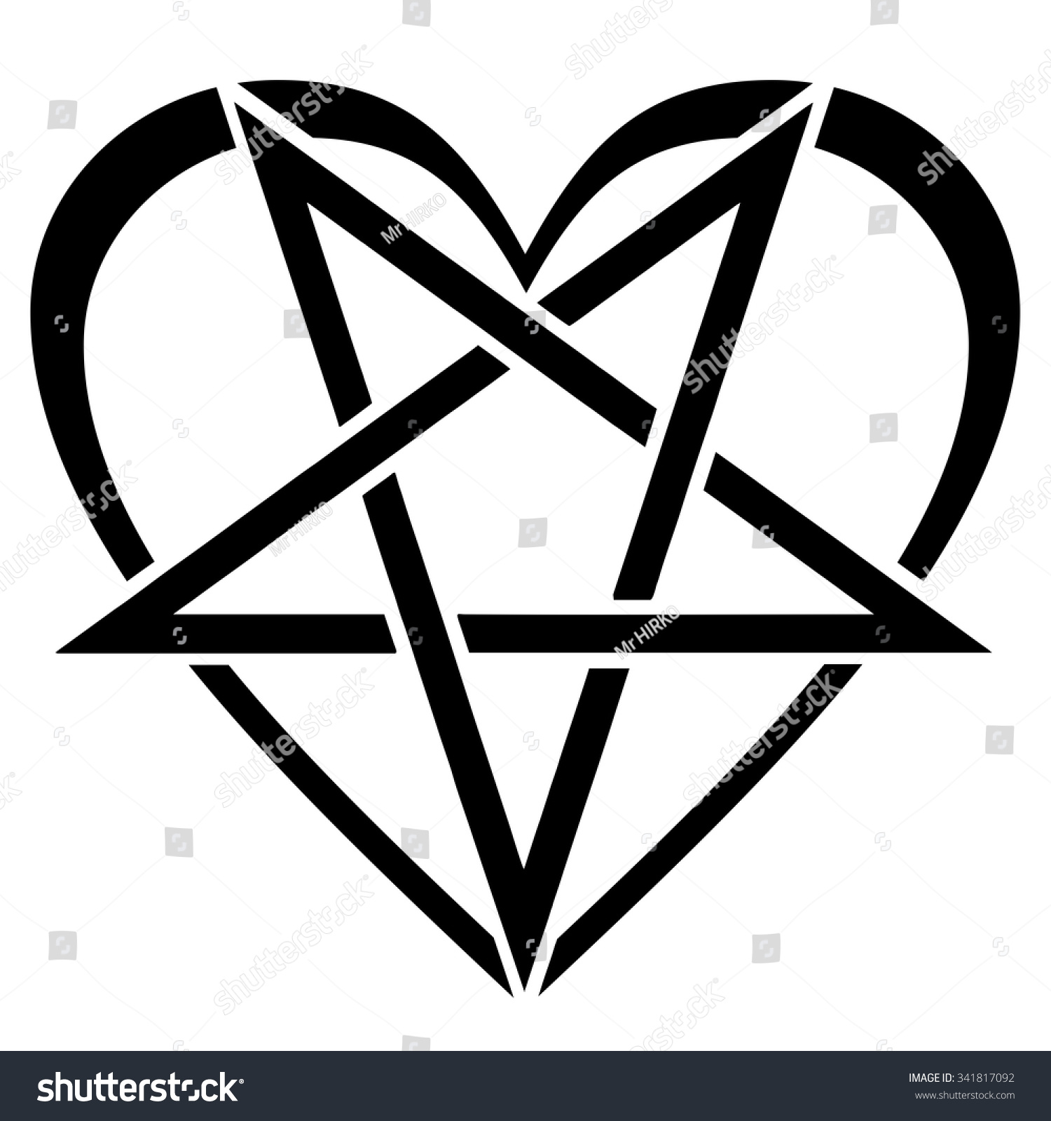 Love No Magic Stock Illustration 341817092
