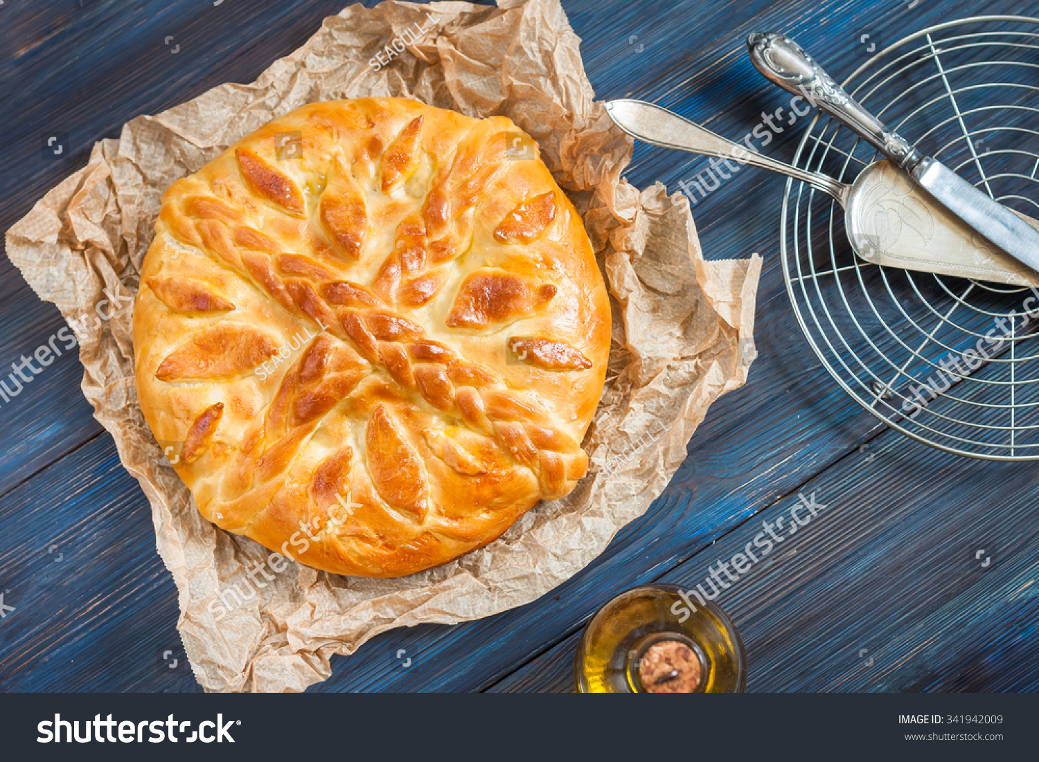 Recipe for pie with cabbage from yeast dough in the oven 18