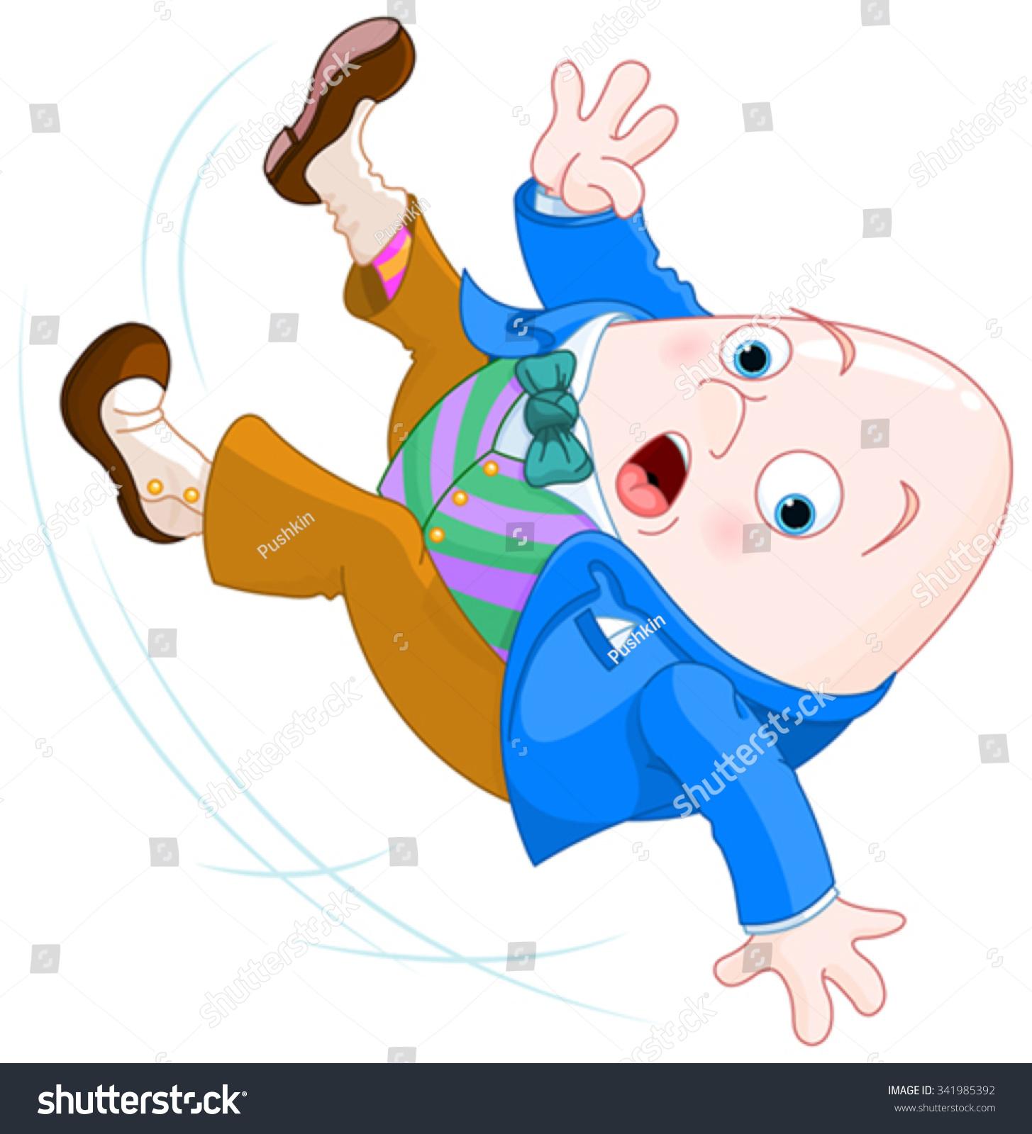 Humpty Dumpty Falls Down Stock Vector Royalty Free 341985392