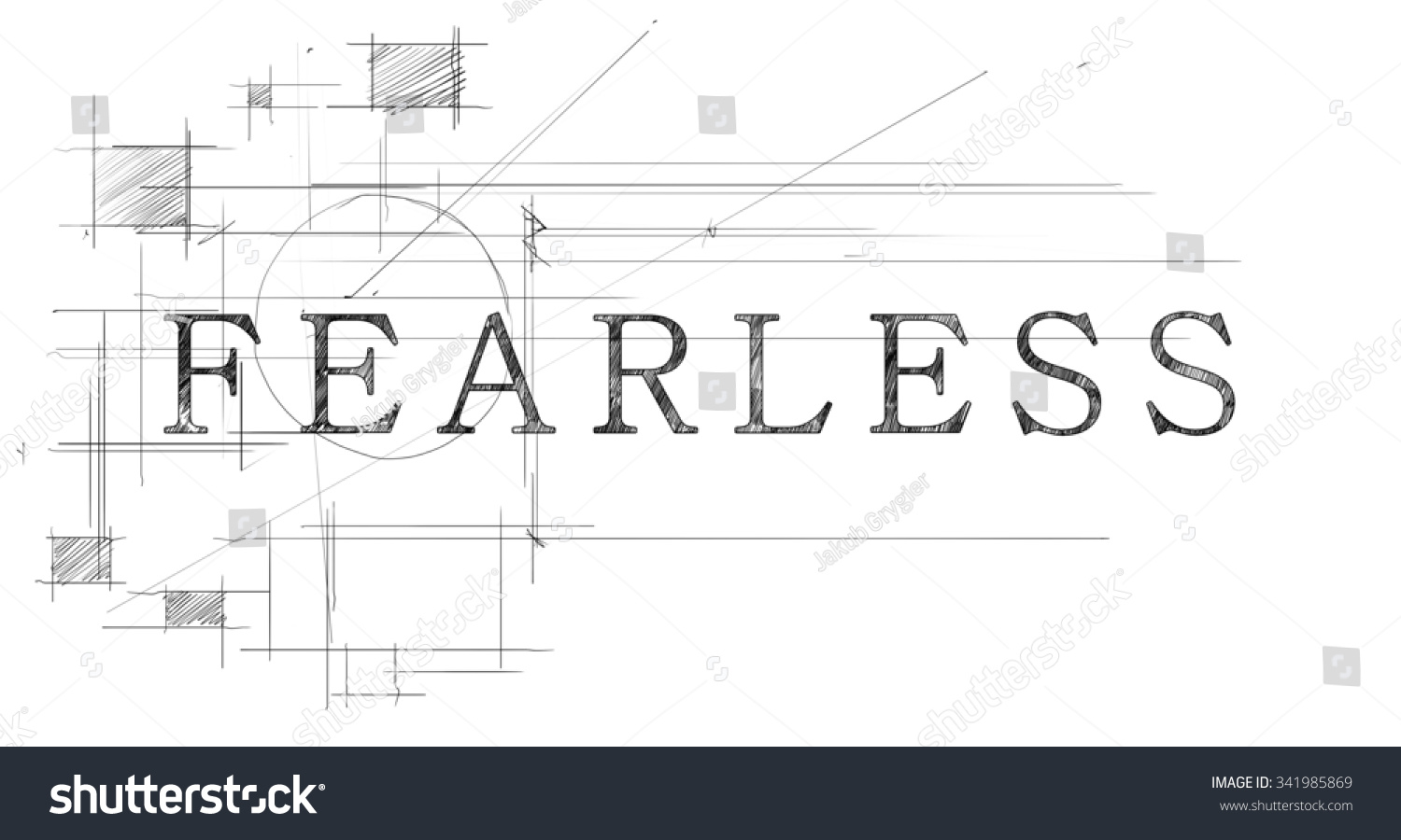 Fearless Word Stock Illustration 341985869 - Shutterstock