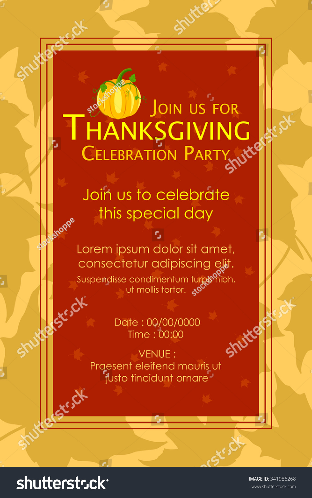 Thanksgiving Party Invitation Images - Party Invitations Ideas