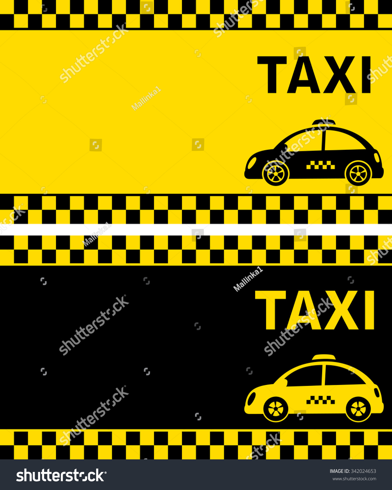 Black yellow business cards retro taxi stock illustration 342024653 black and yellow business cards and retro taxi with checkered stripe reheart Image collections