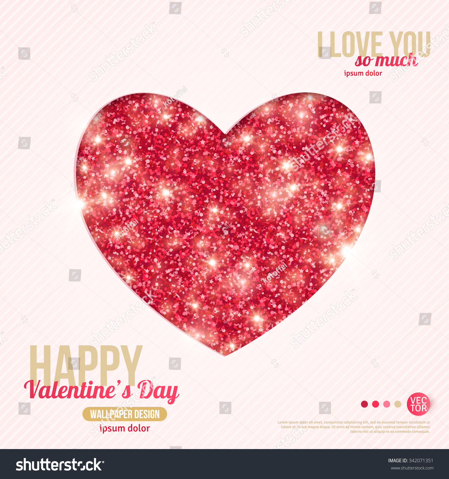 Happy valentines day greeting card vector stock vector royalty free happy valentines day greeting card vector illustration heart shape design template m4hsunfo