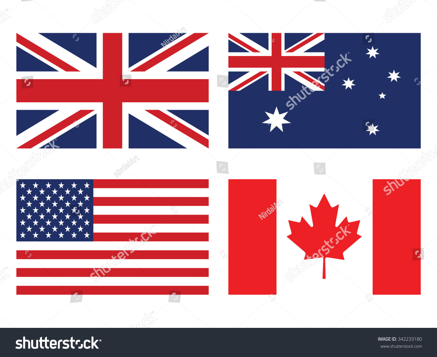 how to put a canadian flag in facebook message