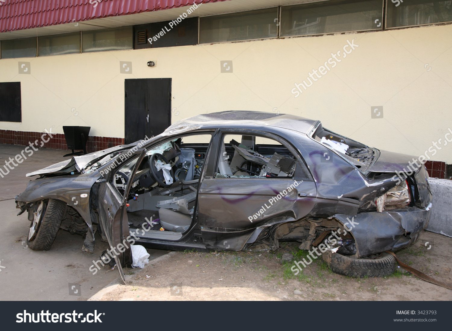 Broken Car Stock Photo 3423793 Shutterstock