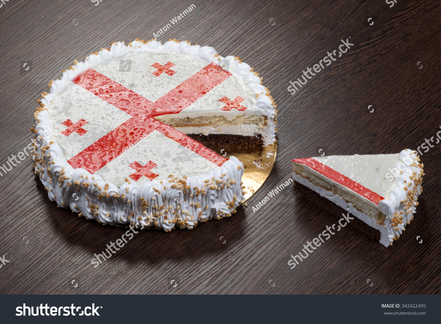 Royalty Free The Symbol Of War And Separatism A 342422495 Stock