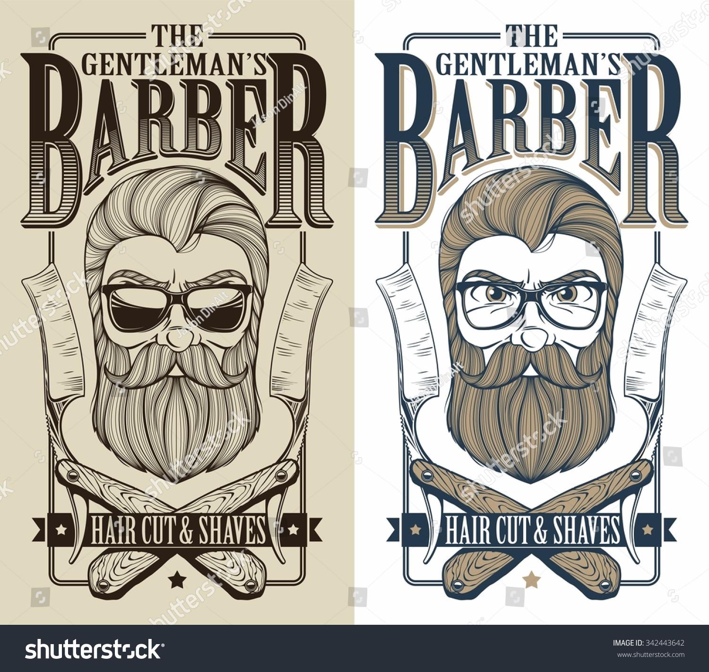 barber logo stock vector 342443642 shutterstock