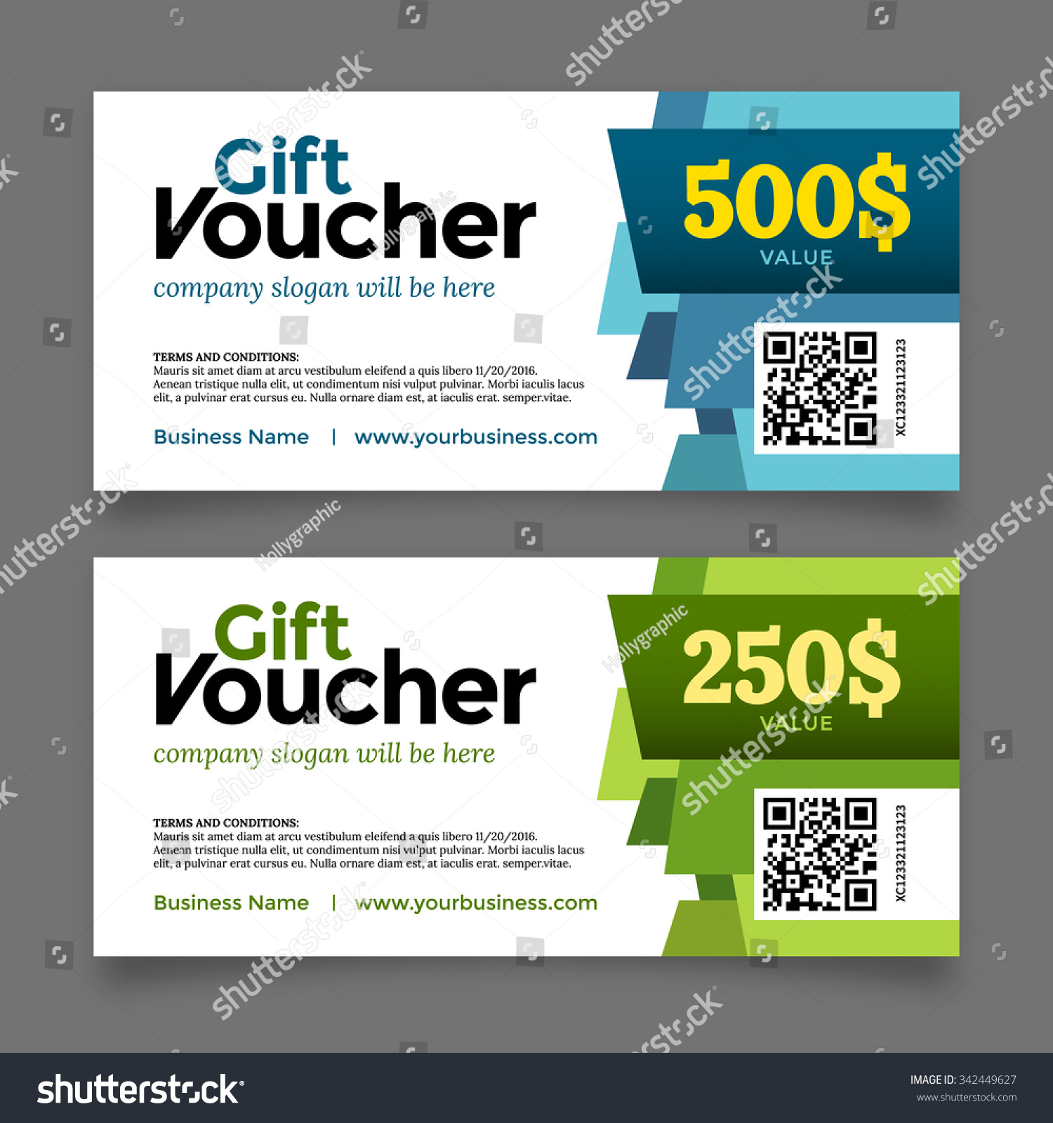 Gift voucher template premium certificate coupon stock vector gift voucher template premium certificate coupon vector graphic design 1betcityfo Images