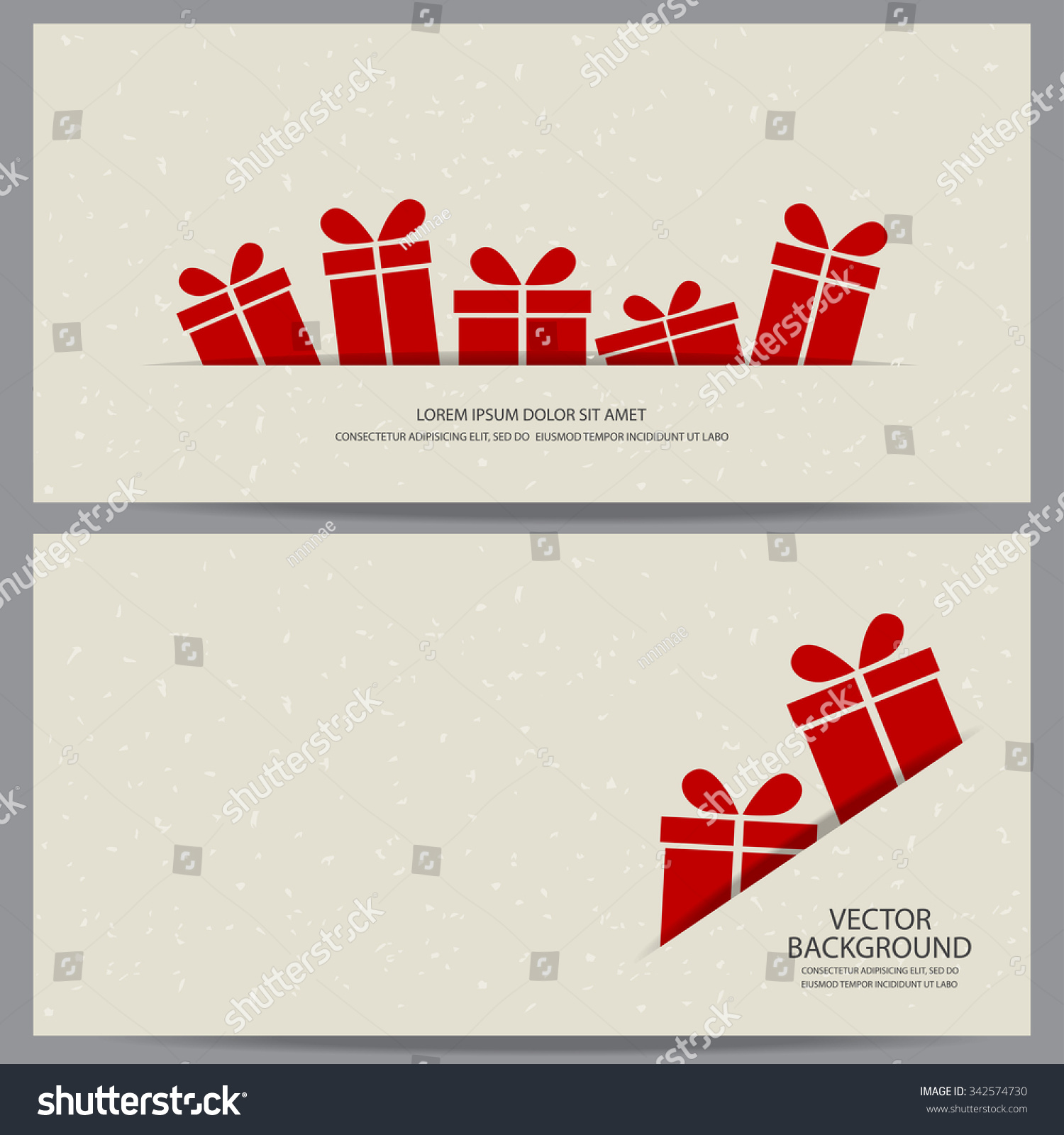 christmas new year gift voucher certificate stock vector  christmas and new year gift voucher certificate coupon template can be use for business shopping