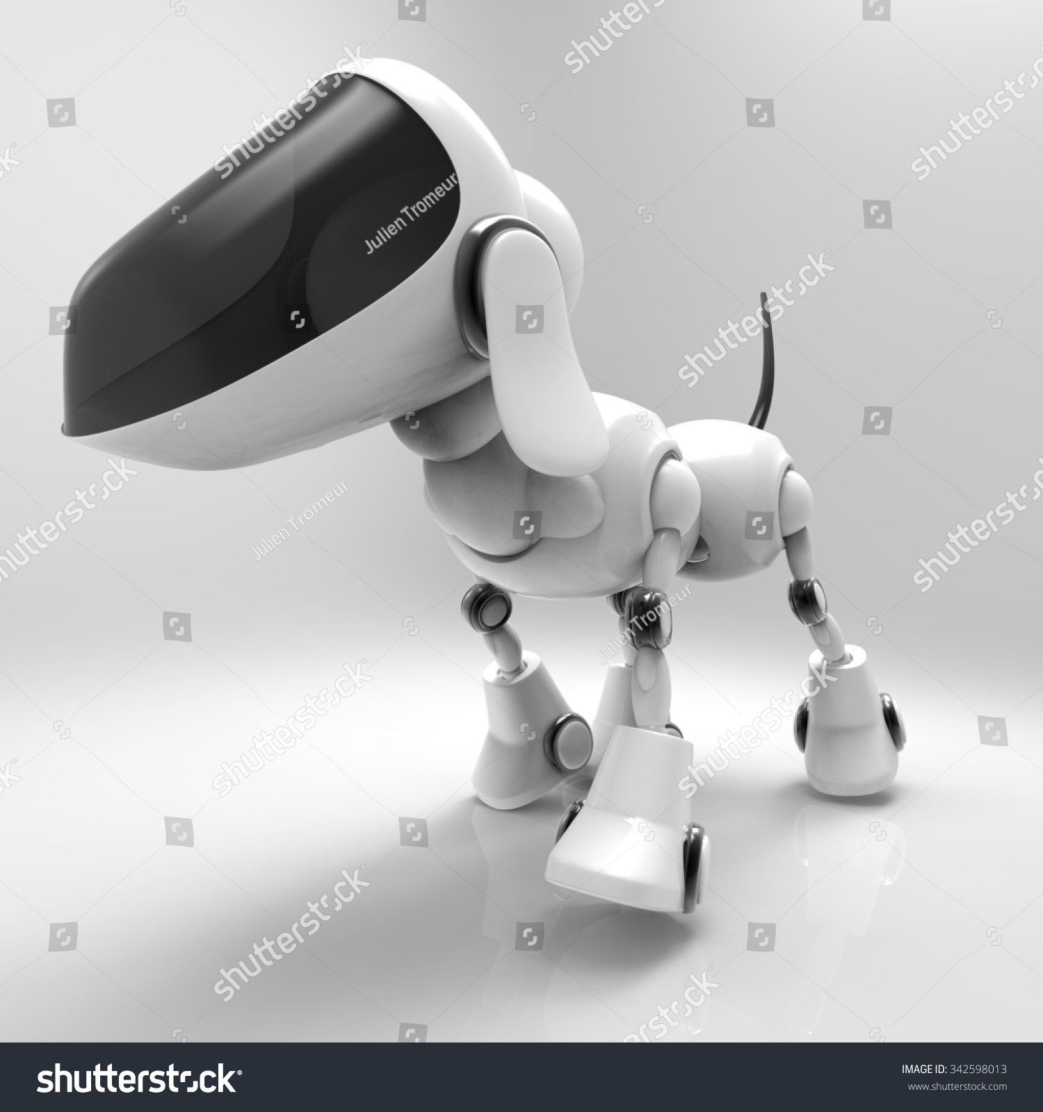 creating a robot pet dog essay