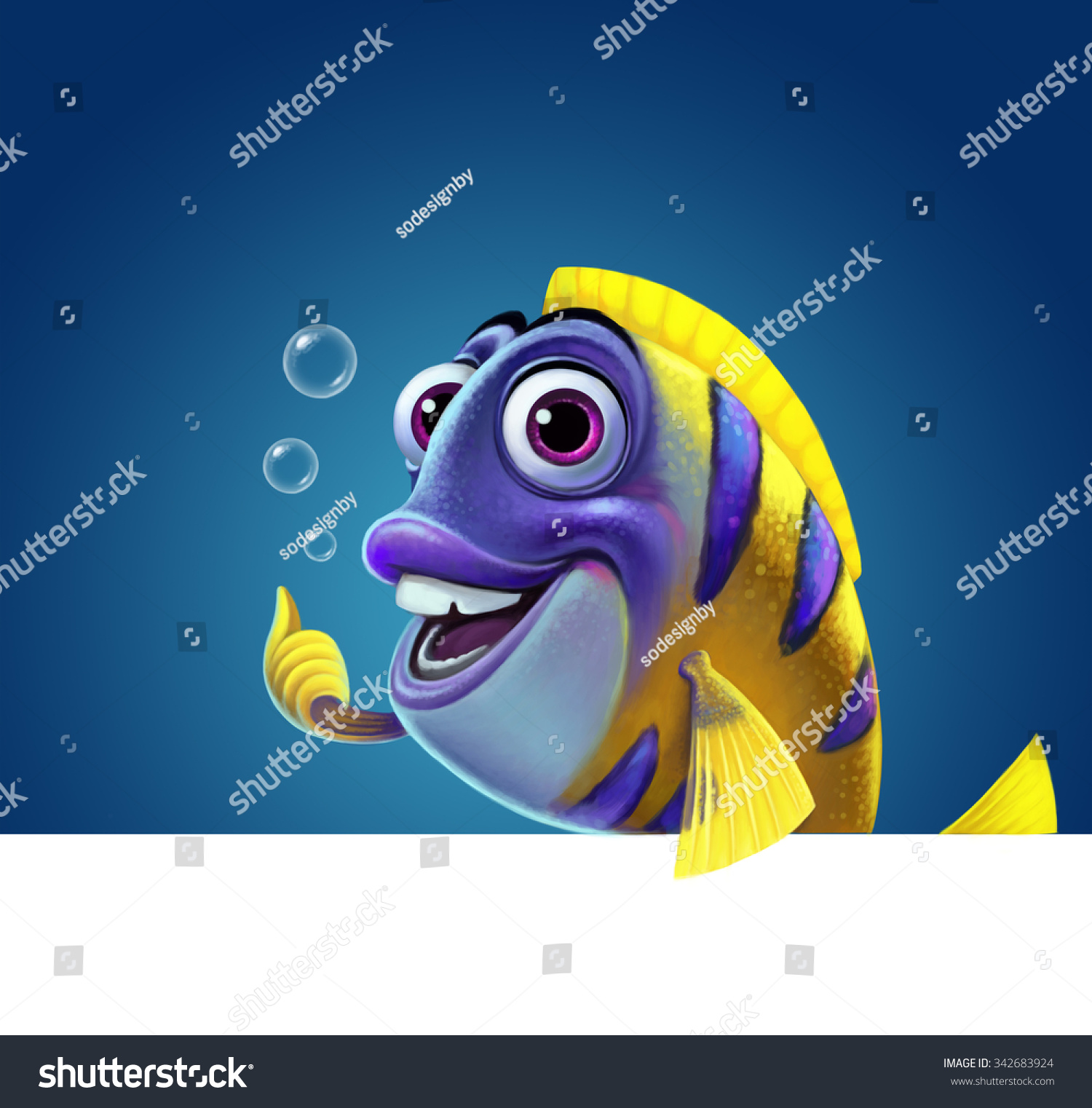 Illustration funny fish stock illustration 342683924 for Funny fishing songs