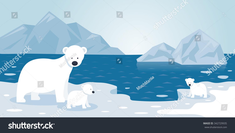 Flat Iceberg Clipart