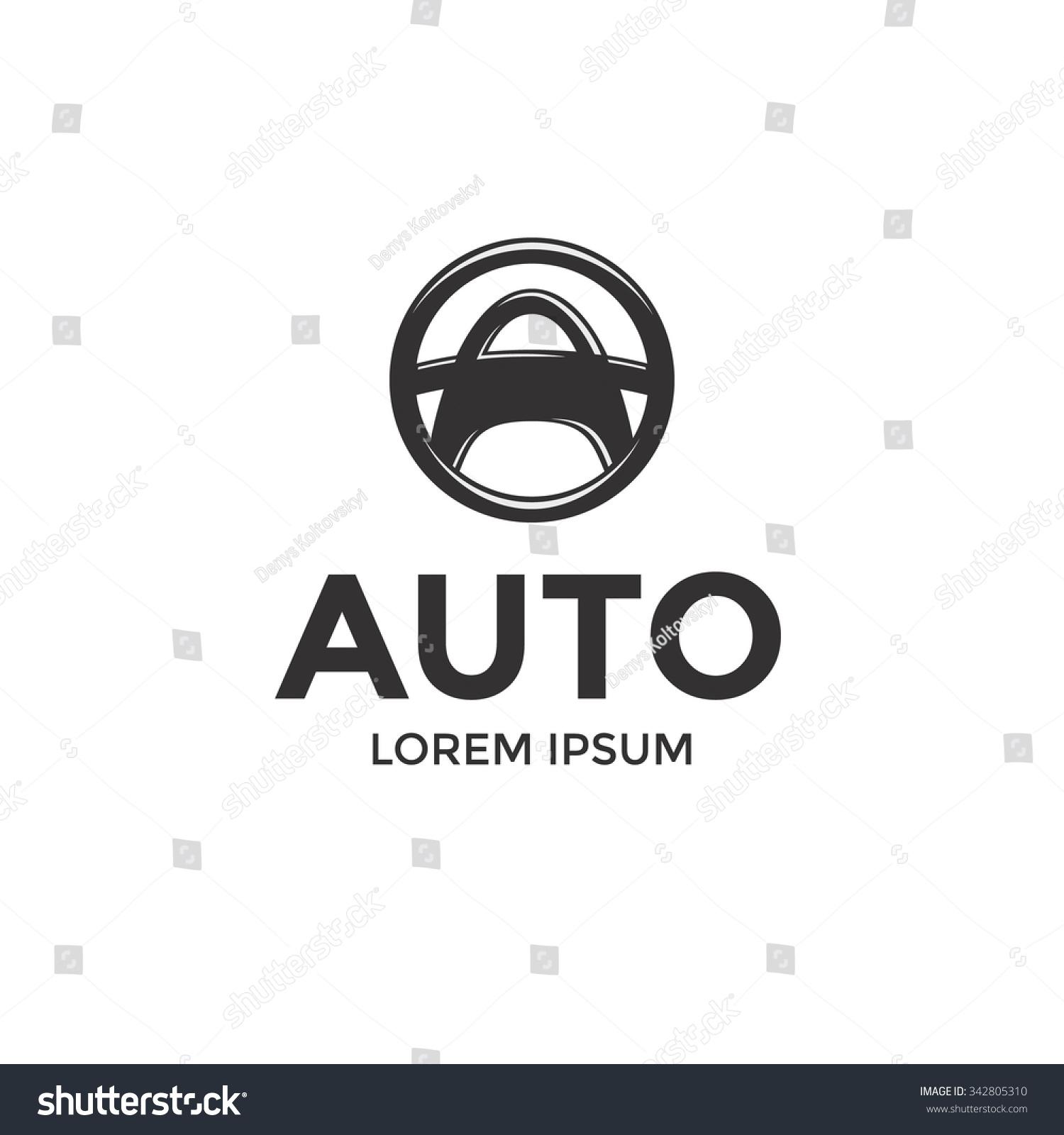 Auto Vector Logo Design Template Symbol Vectores En Stock ...