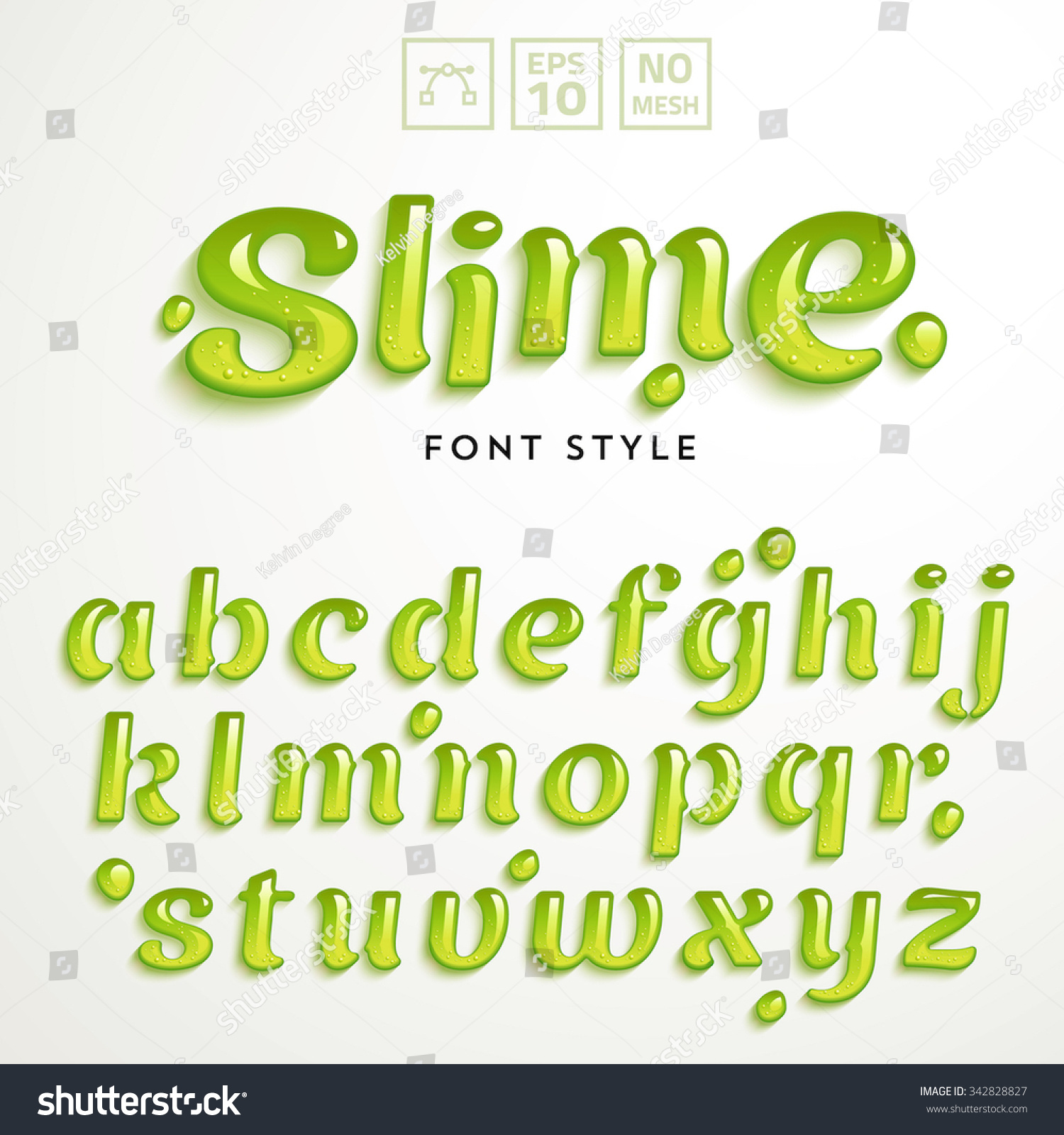 Vector numbers symbols made green slime stock vector 342828827 vector numbers and symbols made of green slime latin alphabet from a to z biocorpaavc Gallery