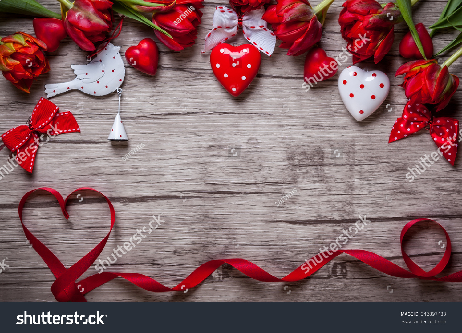 valentines day background chocolates hearts red stock. Black Bedroom Furniture Sets. Home Design Ideas
