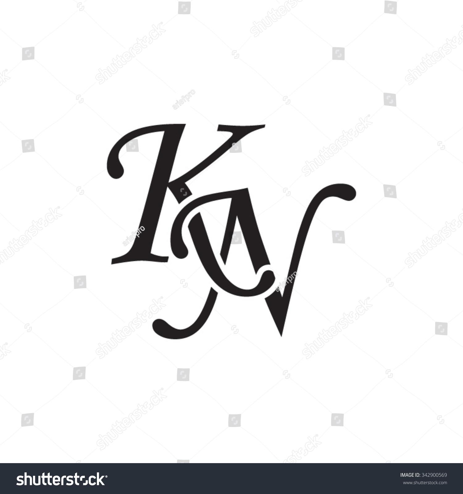 Royalty-free KN initial monogram logo #342900569 Stock ...