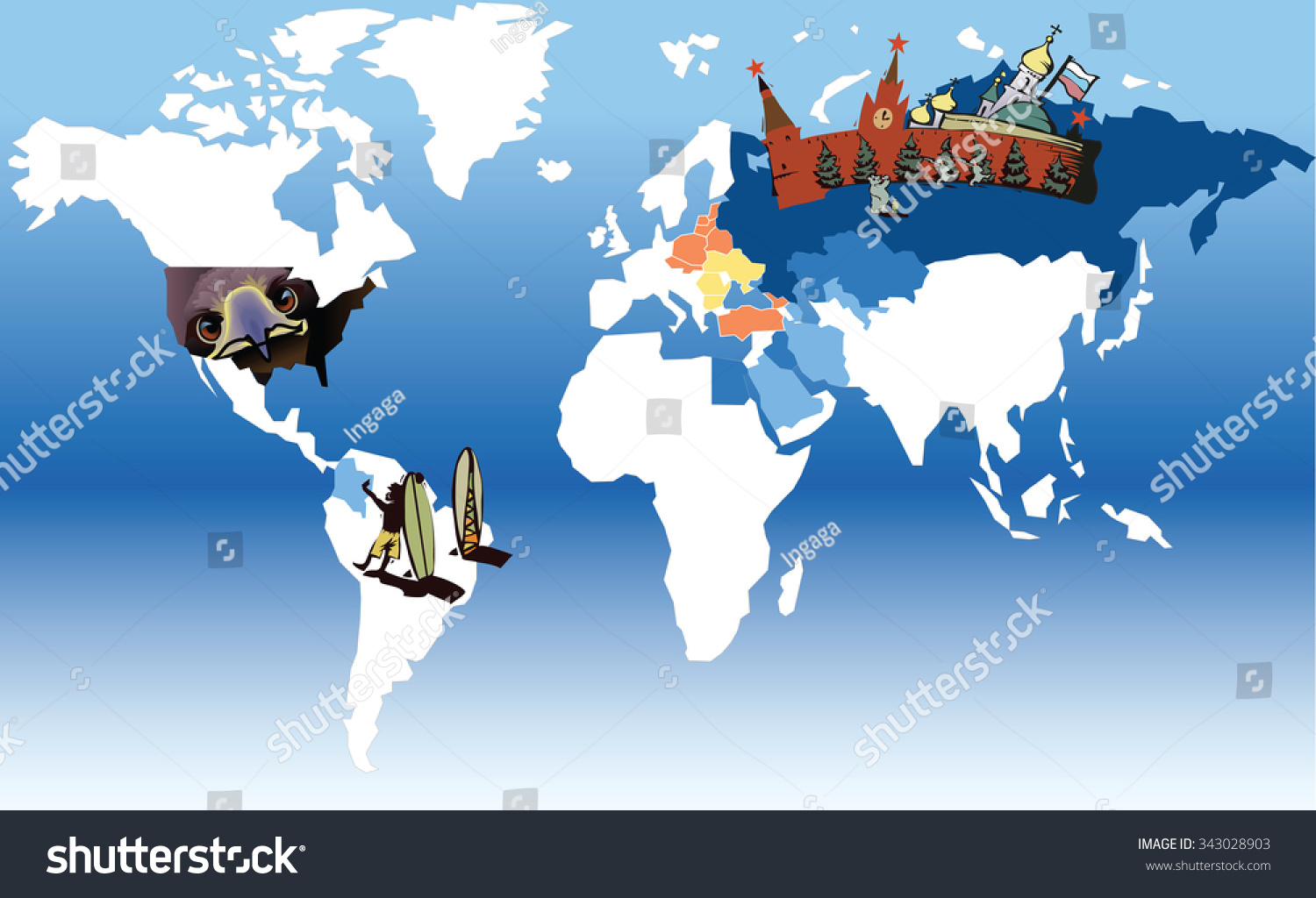 Russia World Map Hawaii Islands Map Map Of Eau Claire Wi - Russia on world map