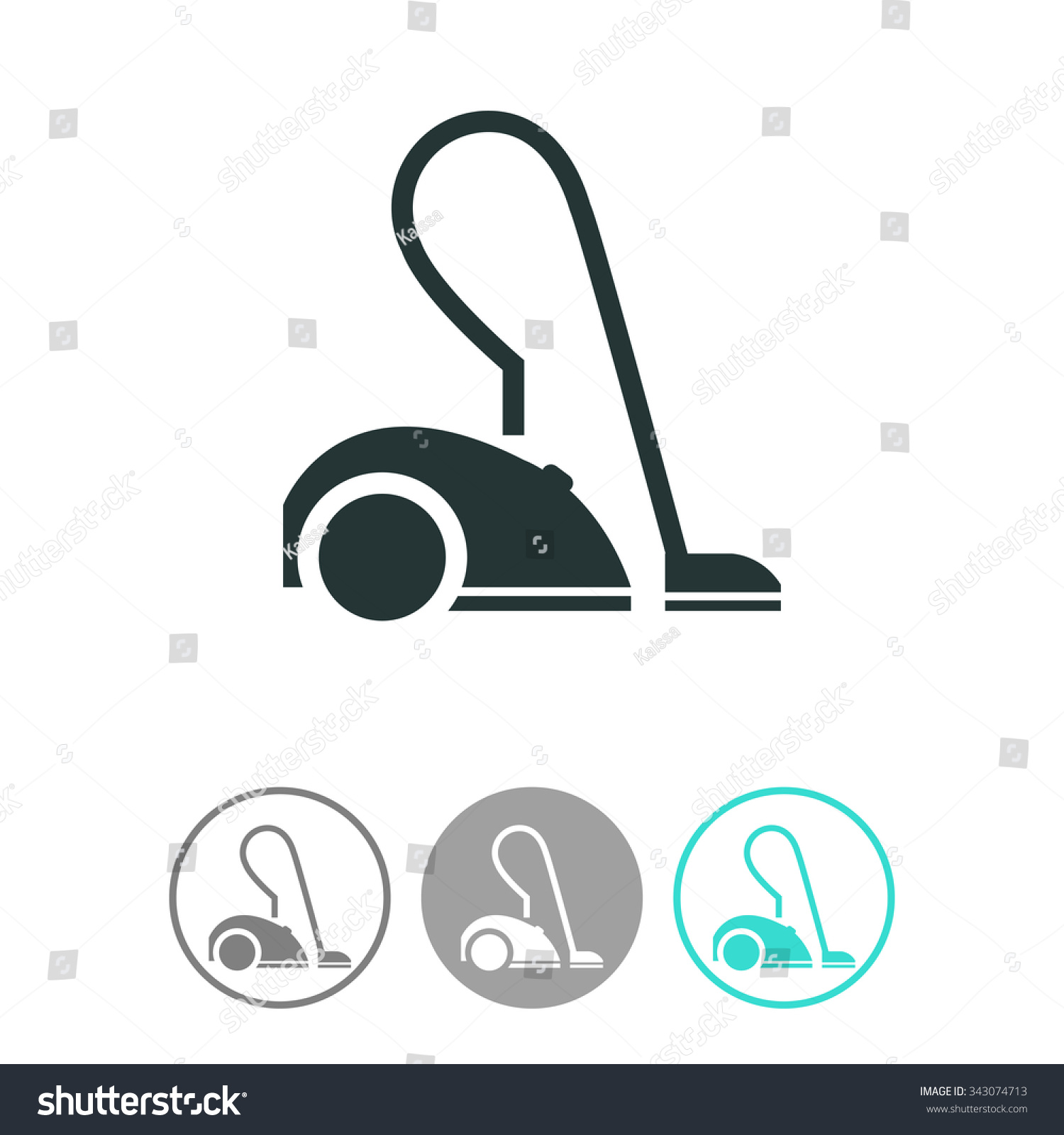 Stock vector blue robotic vacuum cleaner - Cleaner Vector Www Imgkid Com The Image Kid Has It