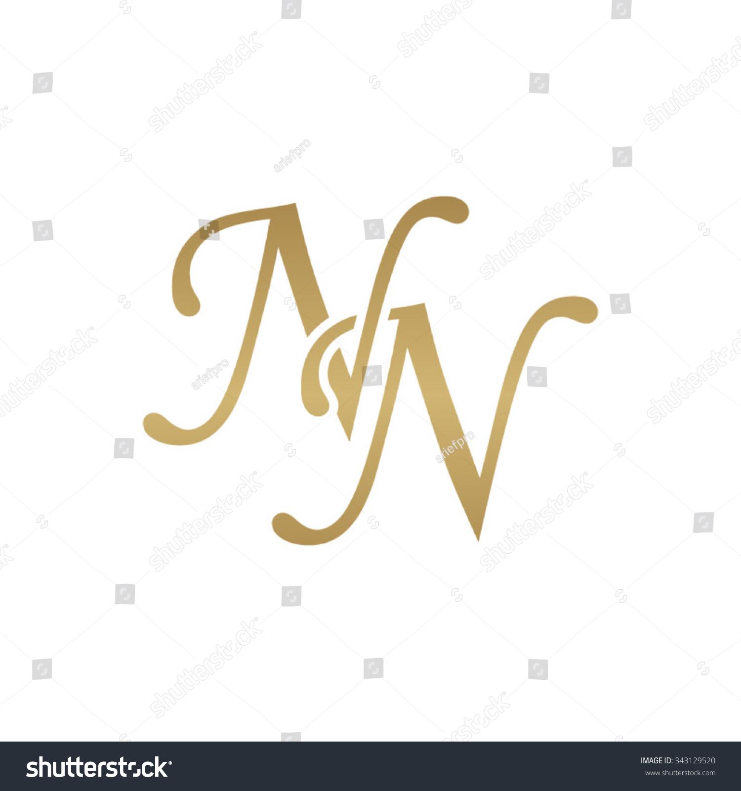 Royalty Free Nn Initial Monogram Logo 343129520 Stock Photo Avopix Com
