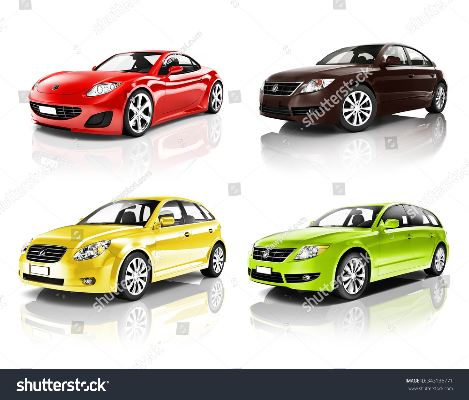 Car Automobile Contemporary Drive Driving Vehicle Stock
