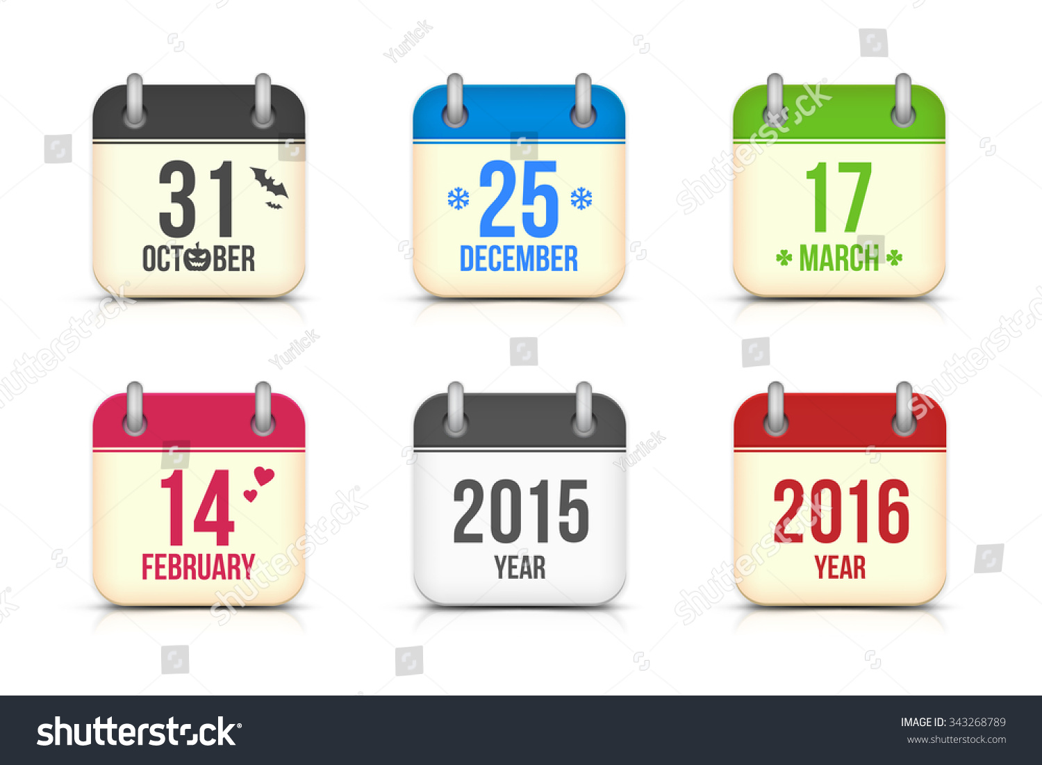 set app icons halloween christmas 2016 stock illustration what day is halloween this year 2016 - Halloween Date This Year