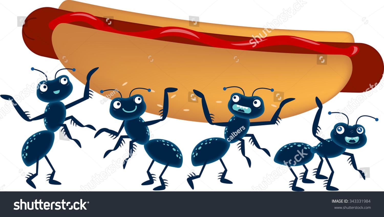 Ants And Dog Food