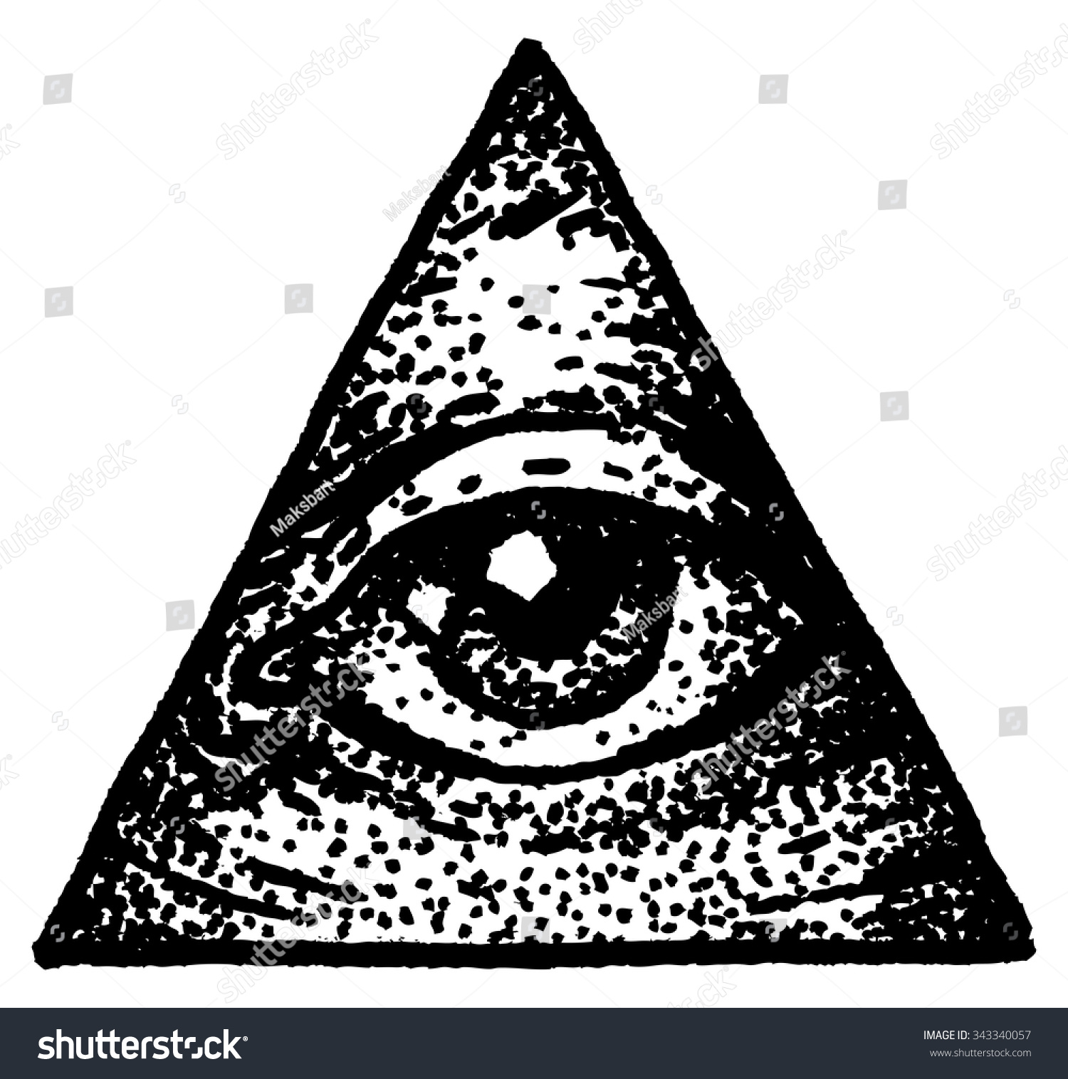 Illuminati Triangle Eye Drawing Illuminati Triangle Dr...